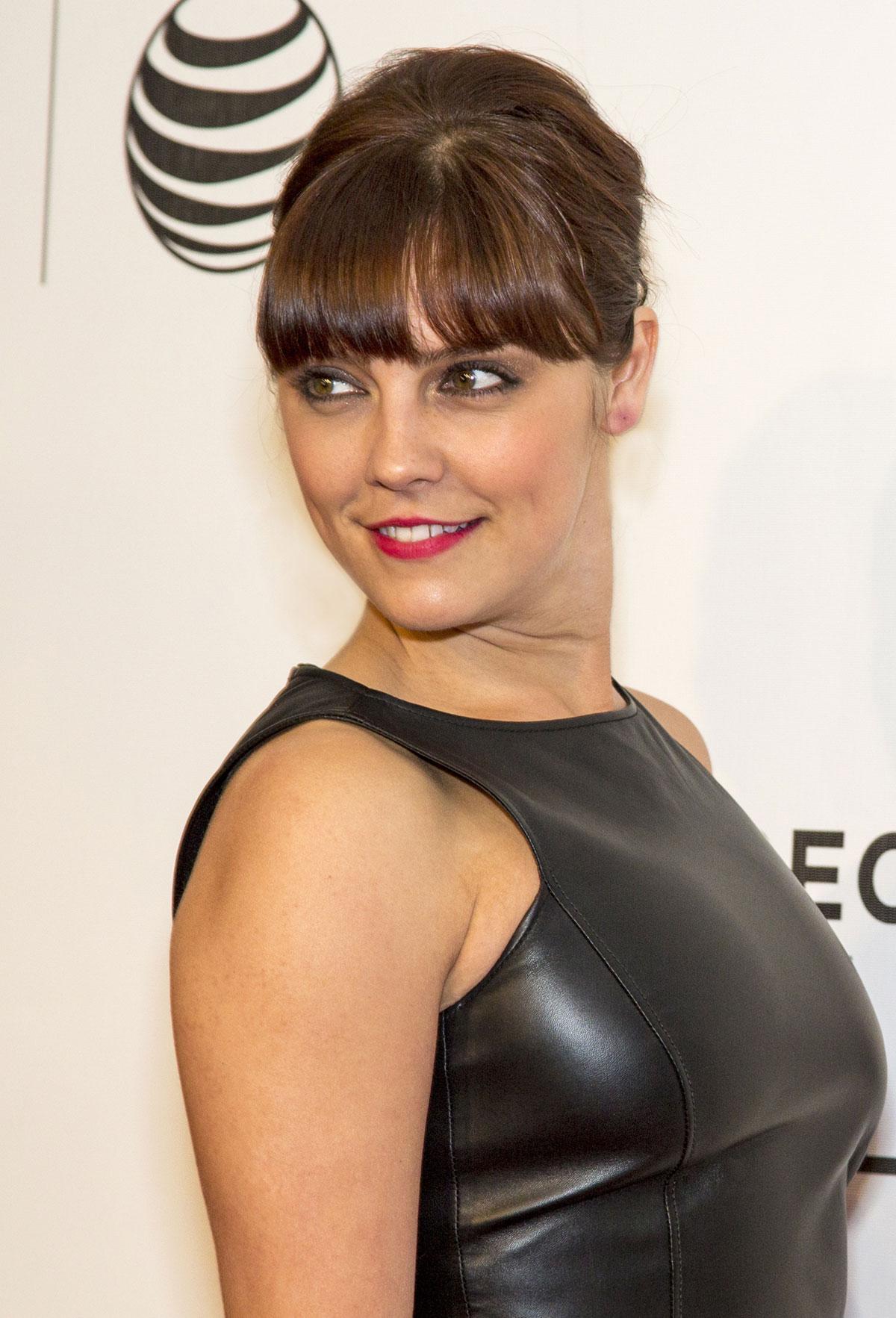 Annabel Scholey attends Tribeca Film Festival
