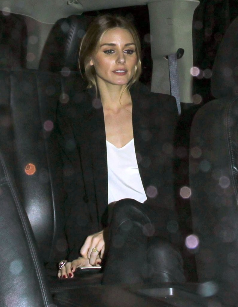 Olivia Palermo night out at The Nice Guy nightclub