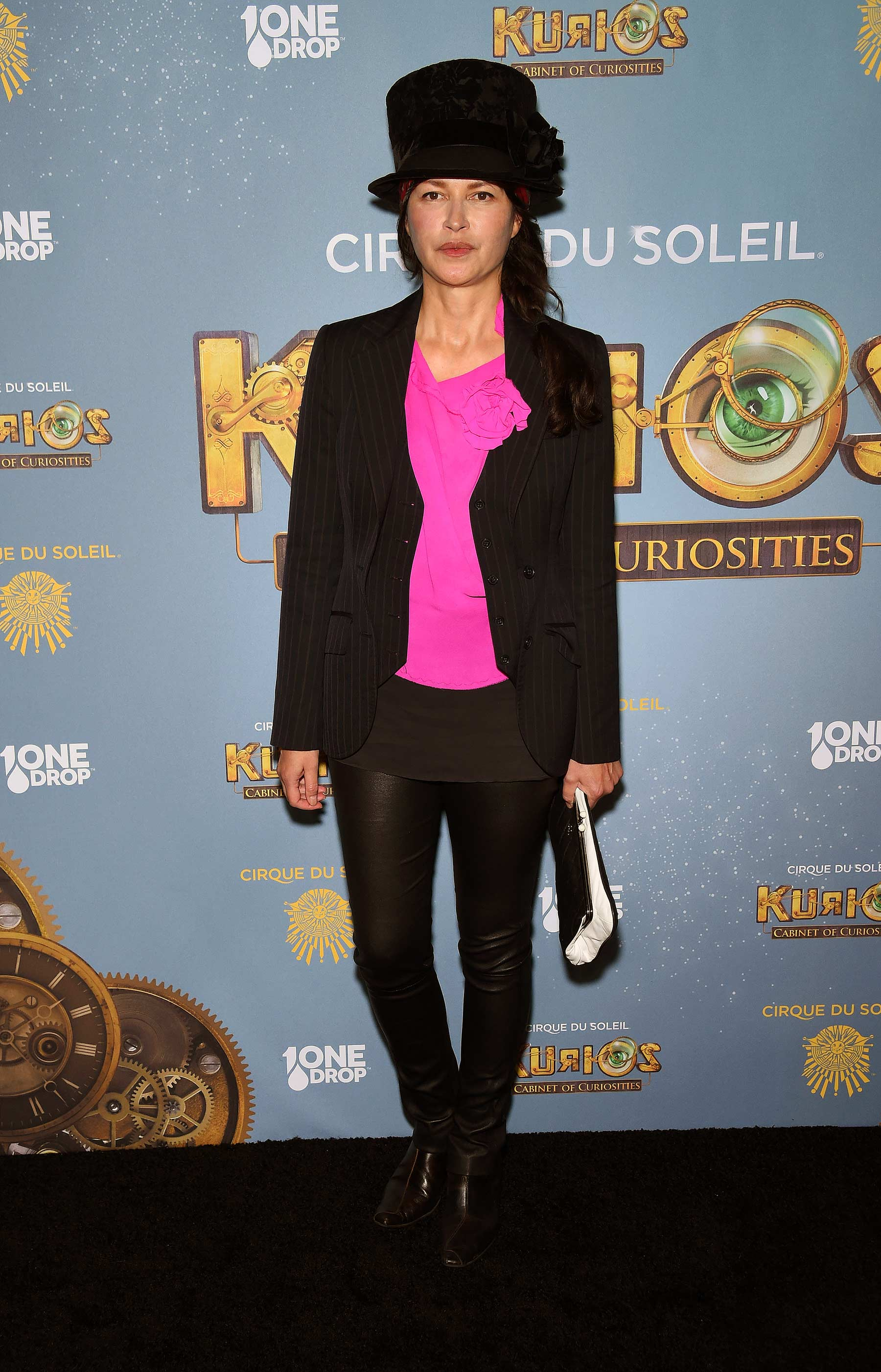 Karina Lombard attends Cirque Du Soleil Kurios Cabinet of Curiosities opening night