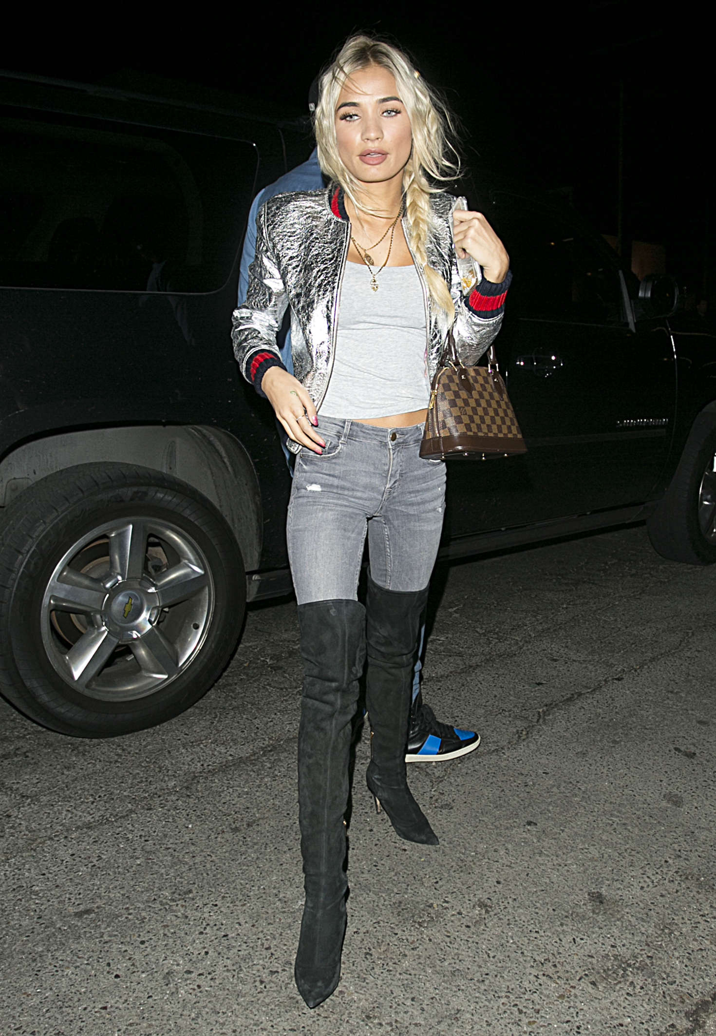 Pia Mia Perez at The Nice Guy Restaurant