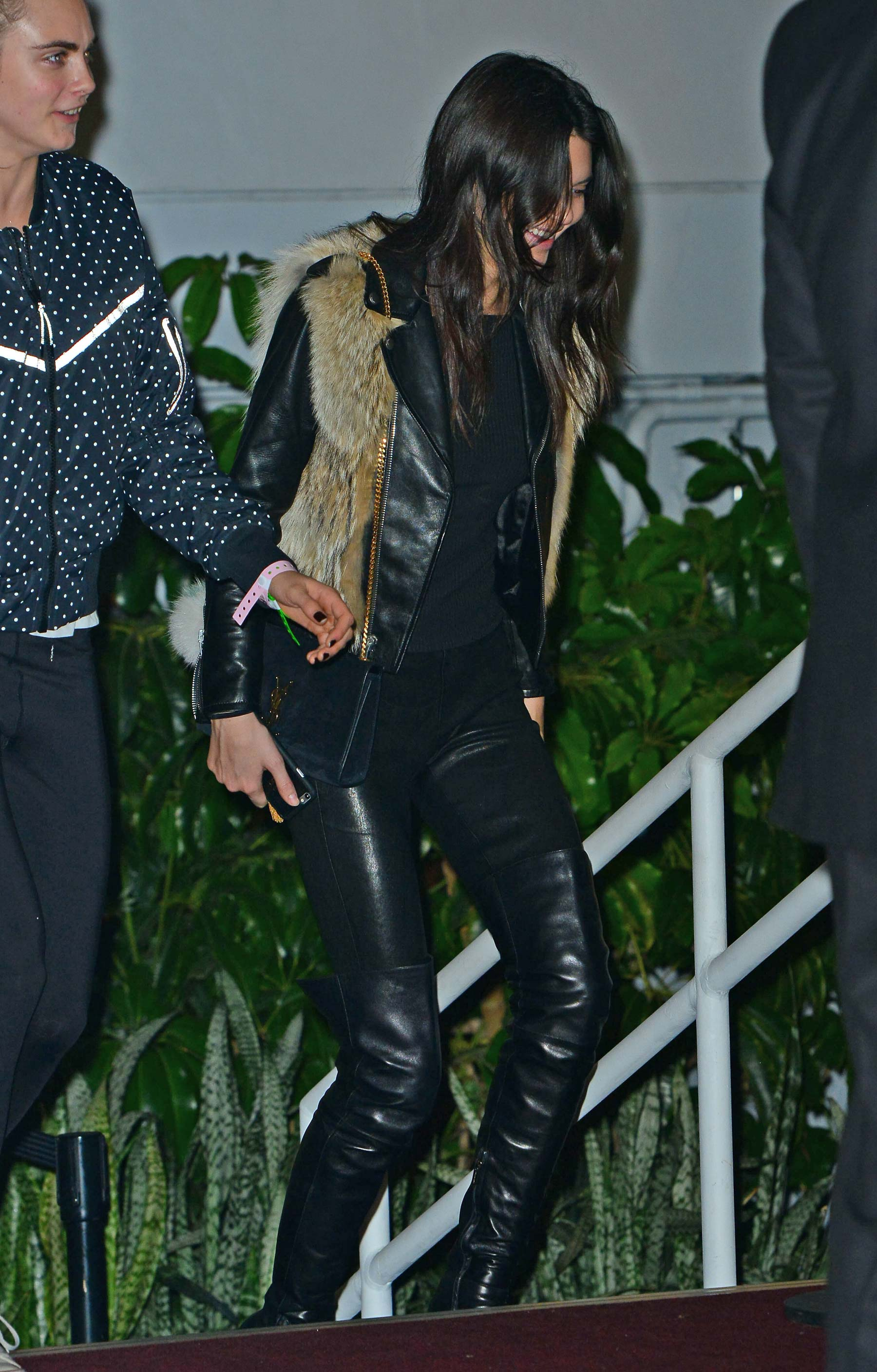 Kendall Jenner leaving The Weeknd's concert in LA