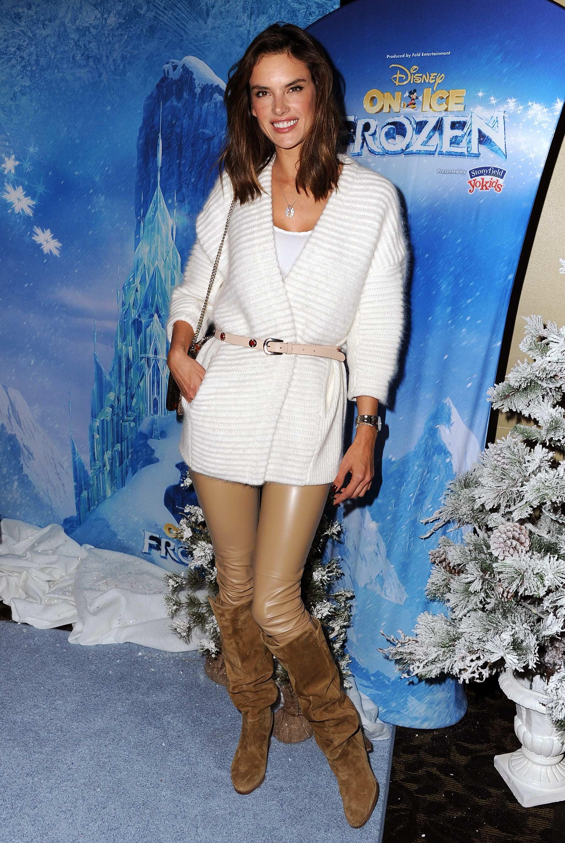 Alessandra Ambrosio attends Disney On Ice 2015
