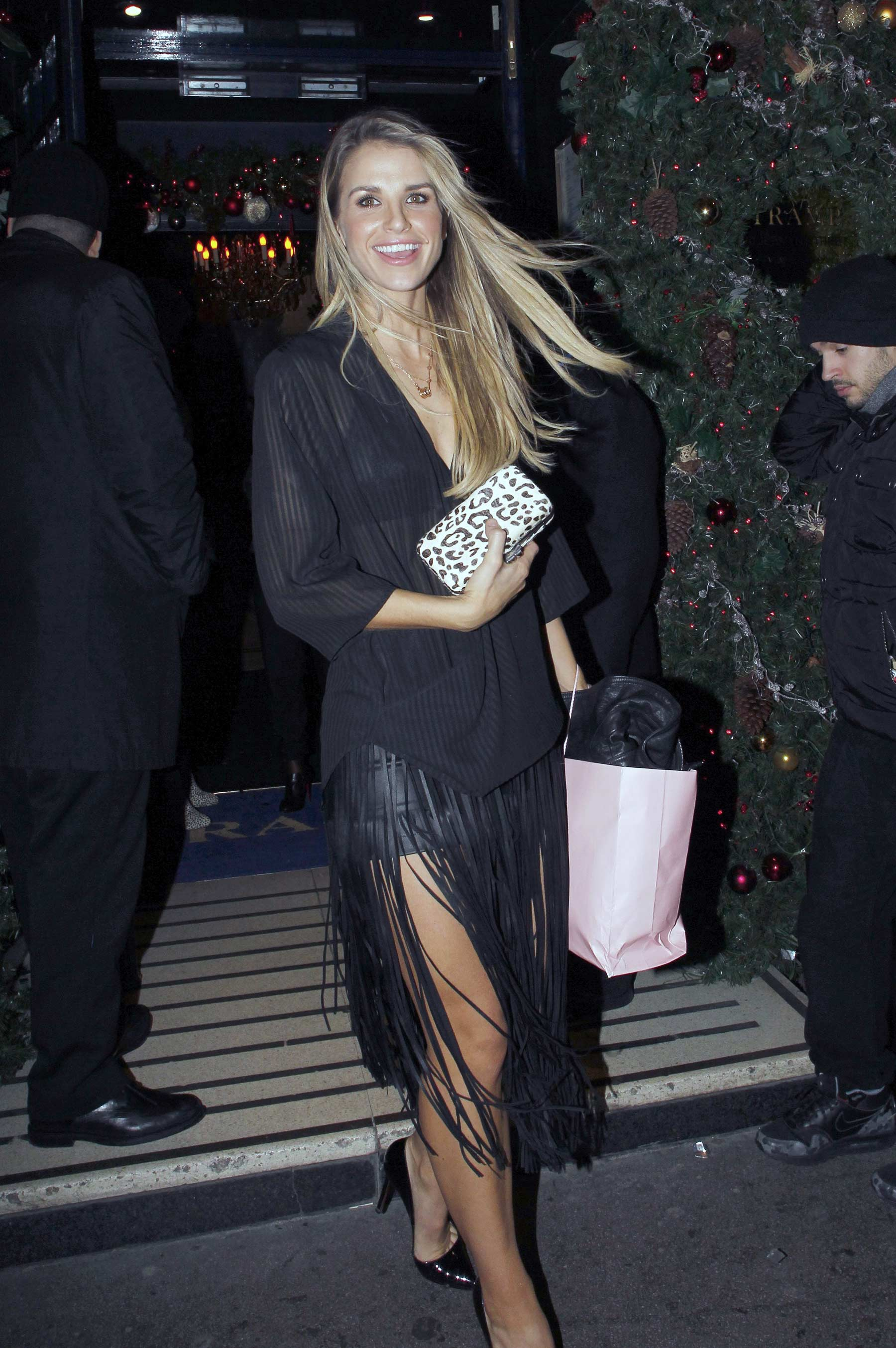 Vogue Williams attends Sunday Times STYLE Magazine's Tramp Members Club