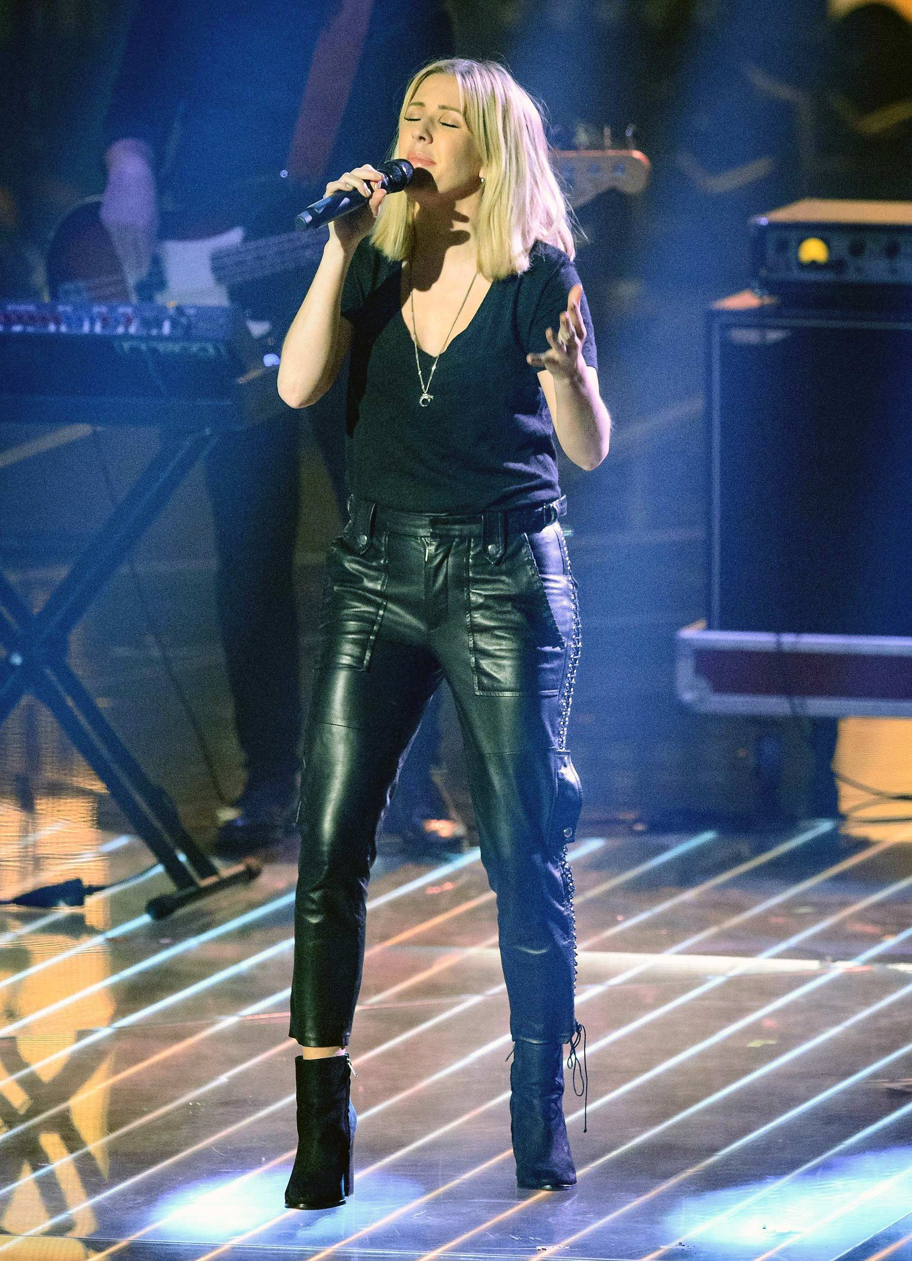 Ellie Goulding performs atThe Voice of Germany