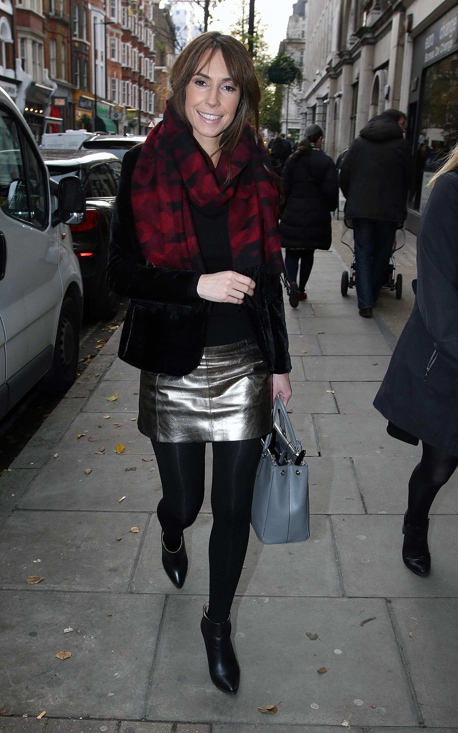 Alex Jones London candids