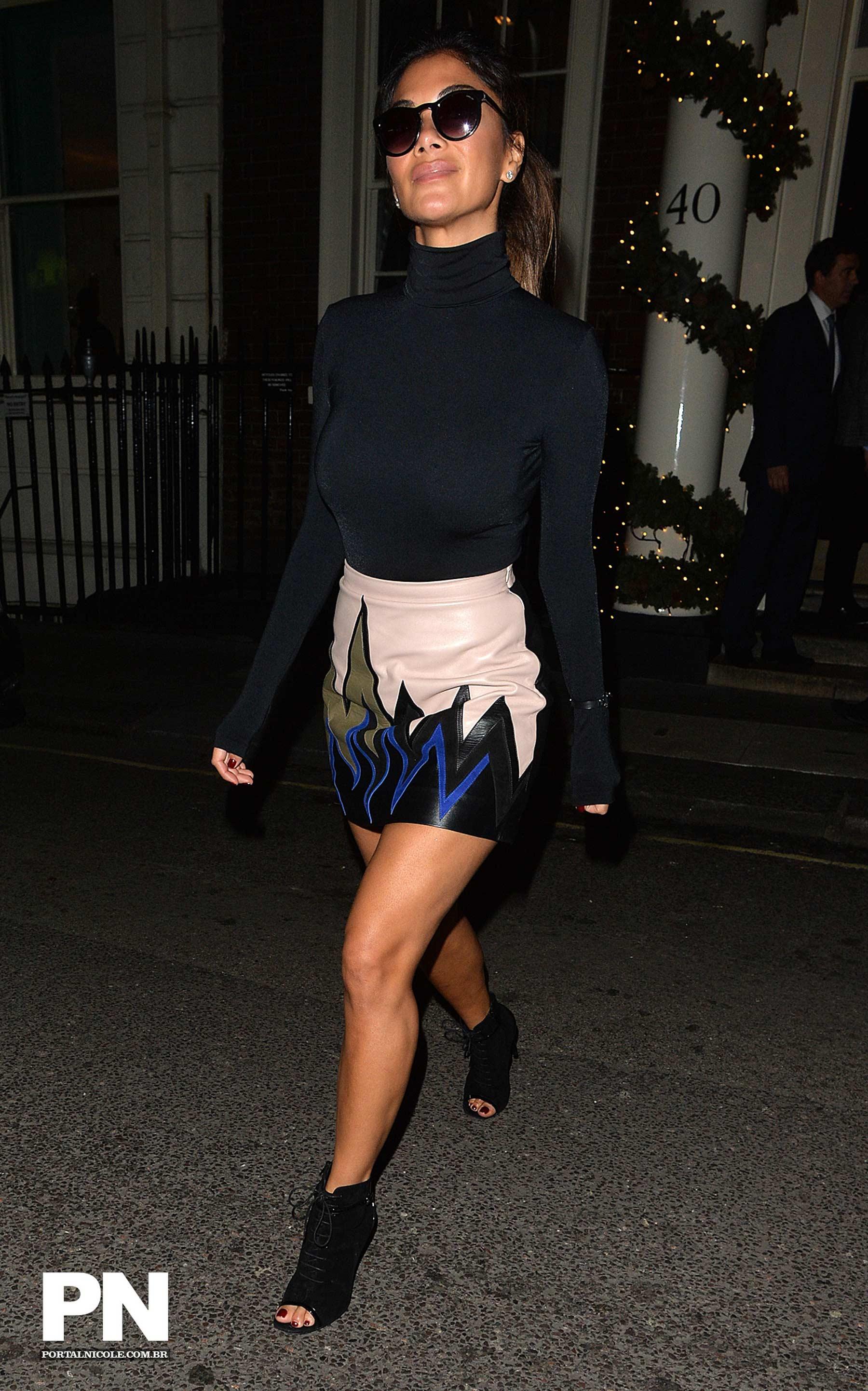 Nicole Scherzinger leaving The Arts Club