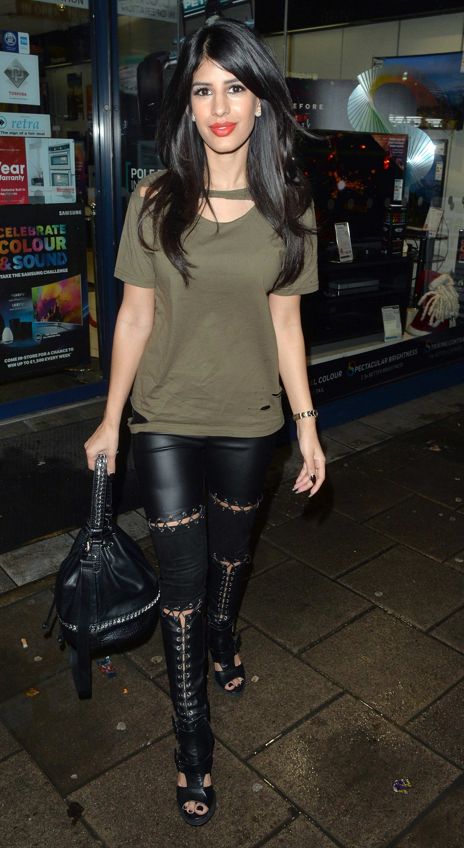 Jasmin Walia out and about in London