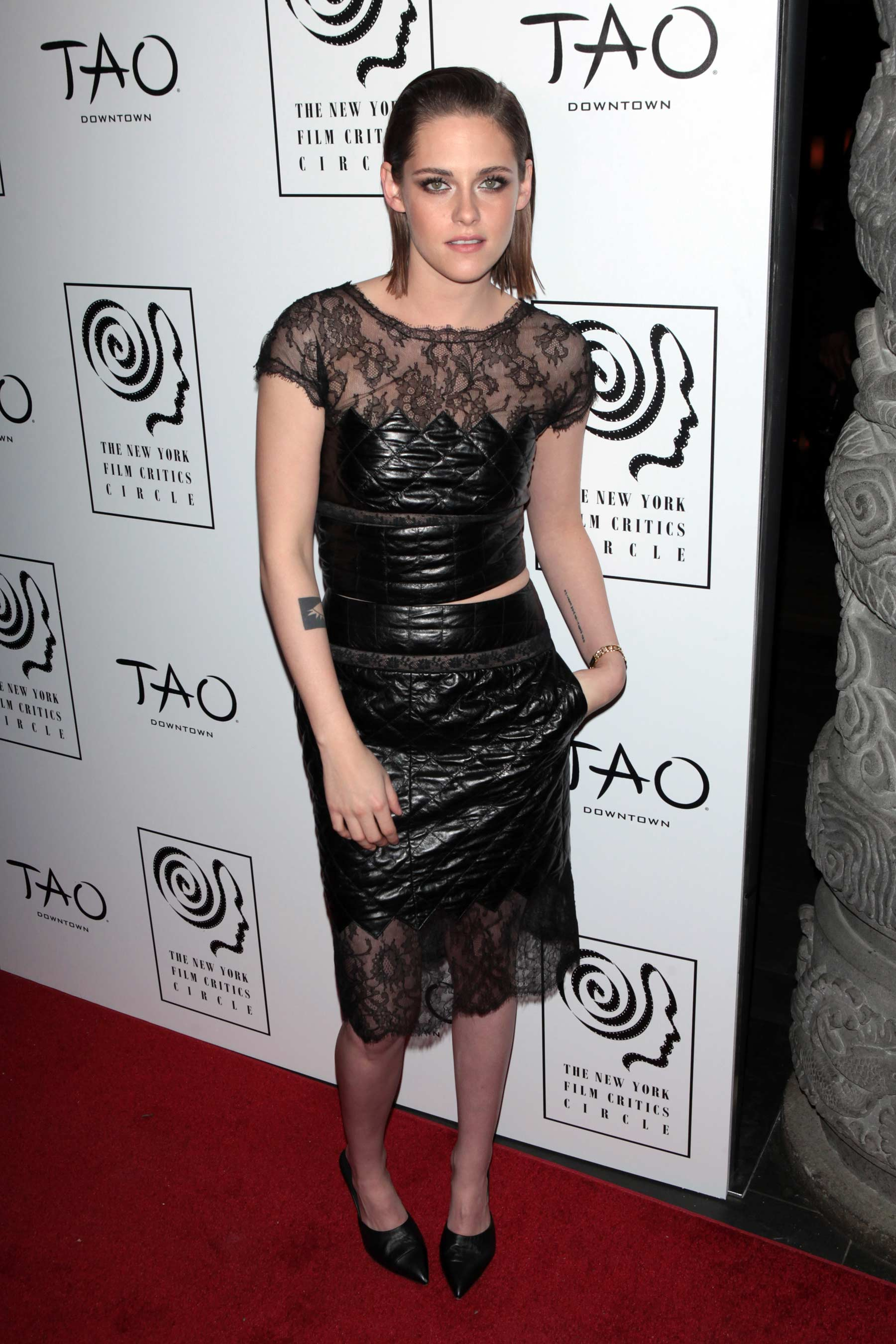 Kristen Stewart attends 2015 New York Film Critics Circle Awards