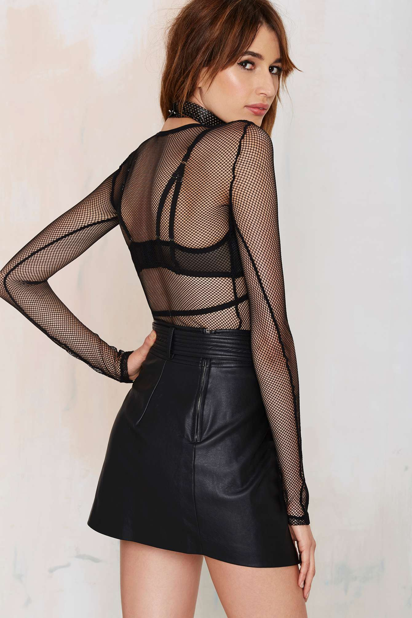Kenza Fourati photoshoot for Nasty Gal Collection