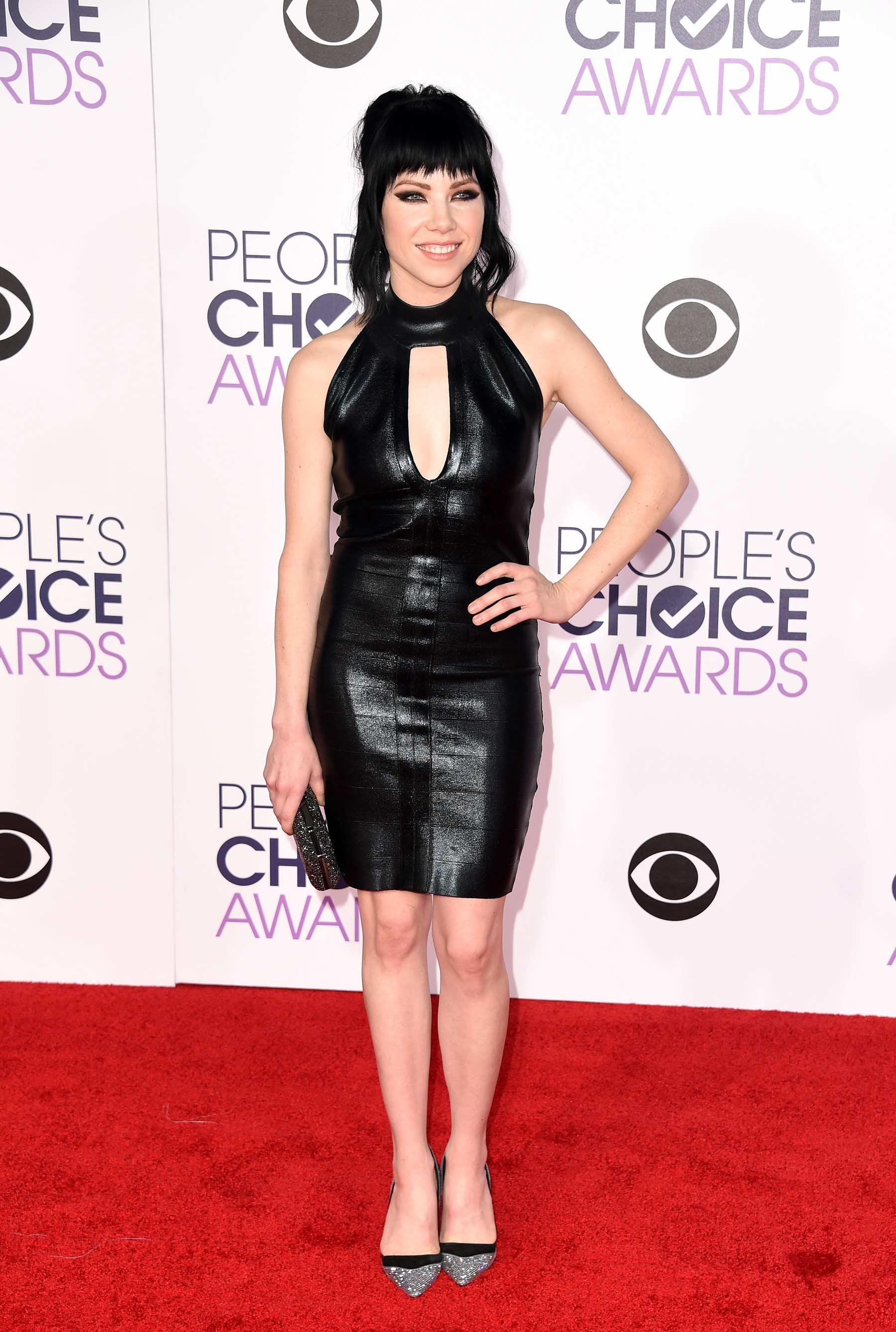 Carly Rae Jepsen attends 2016 People's Choice Awards