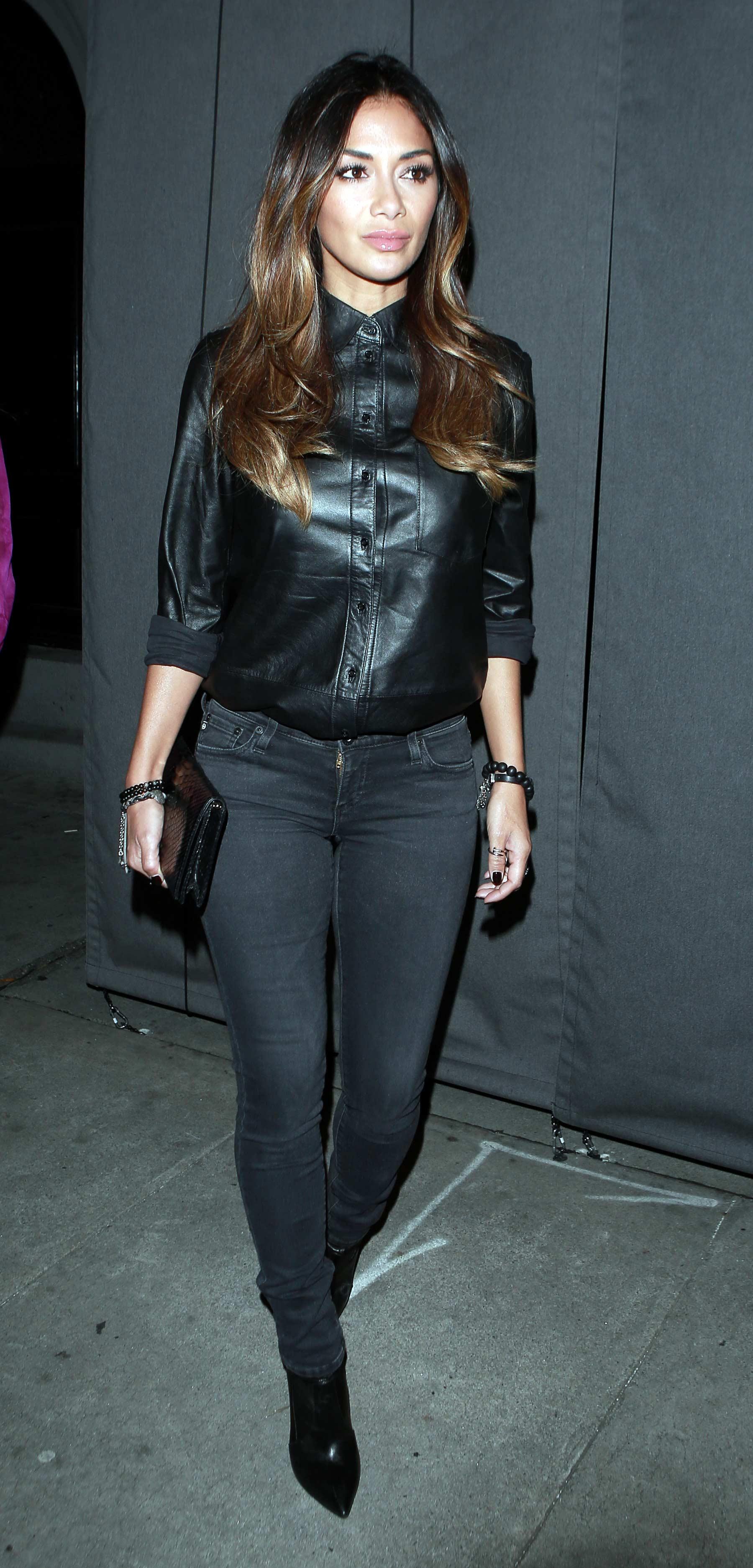 Nicole Scherzinger at Craigs Restaurant