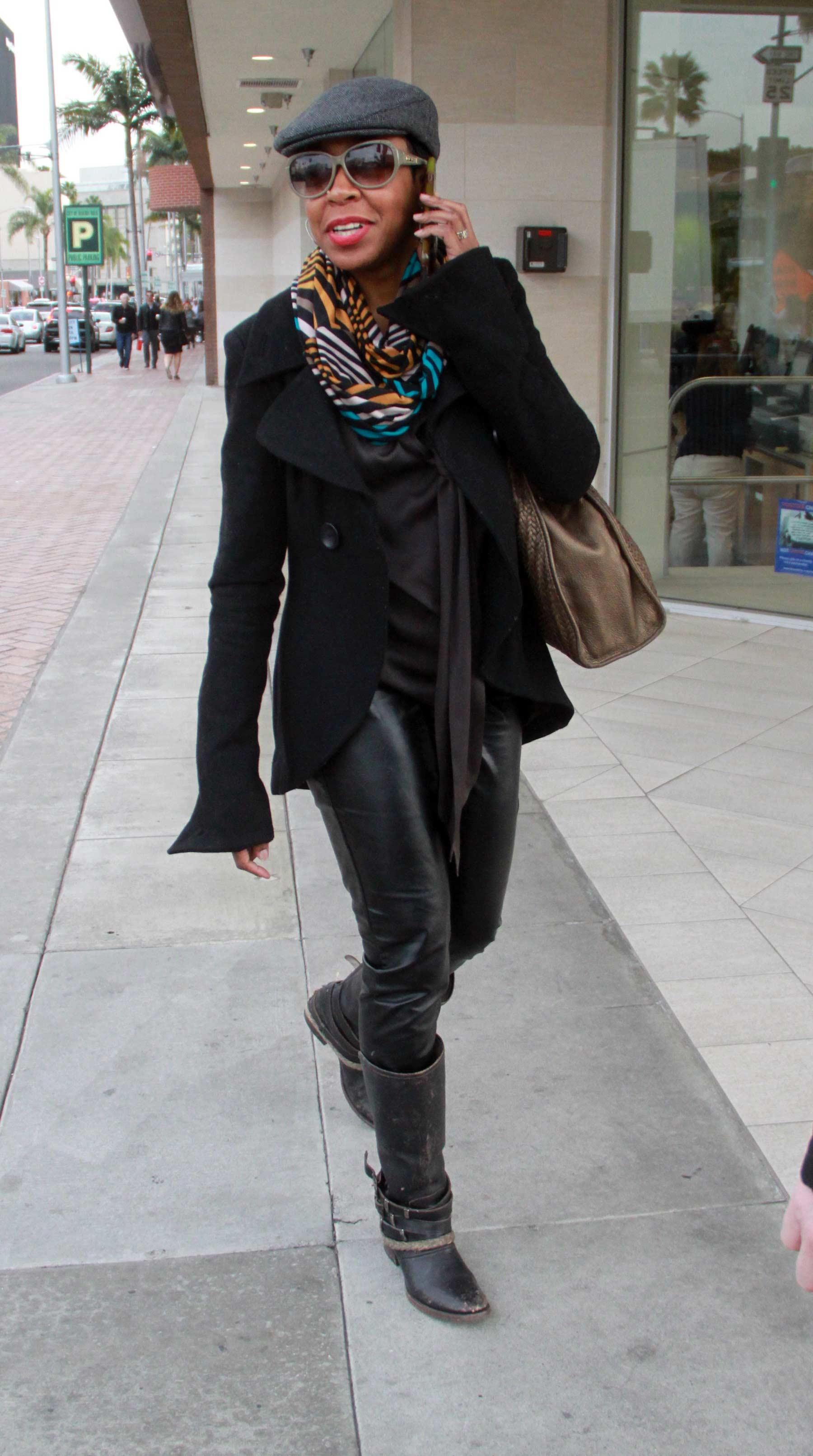 Tichina Arnold goes shopping at Rite Aid