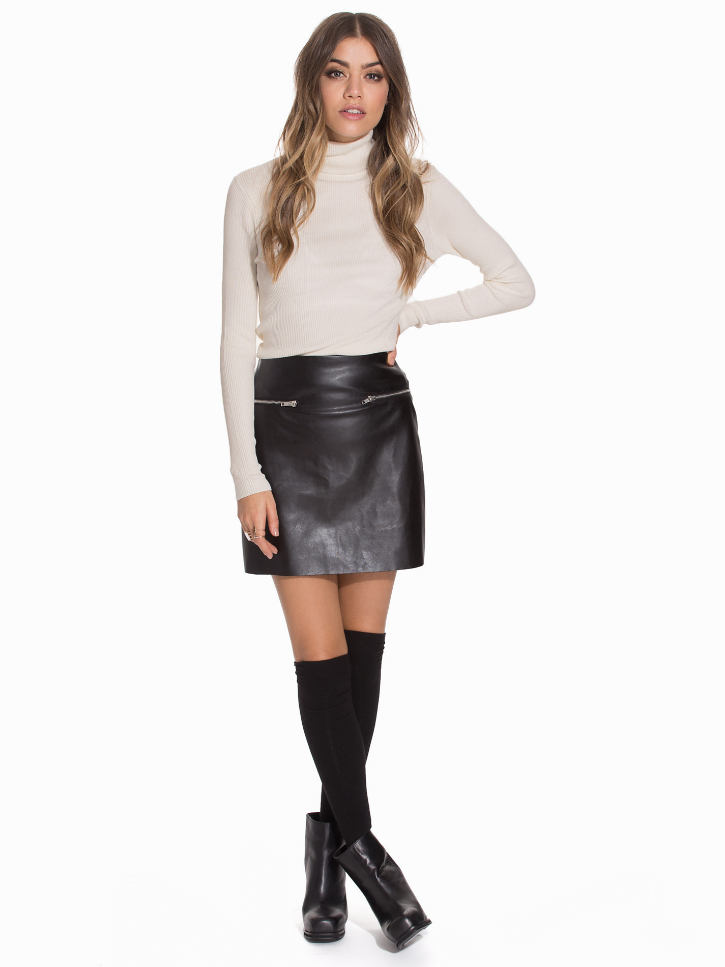 trends leather skirts on leather skirts