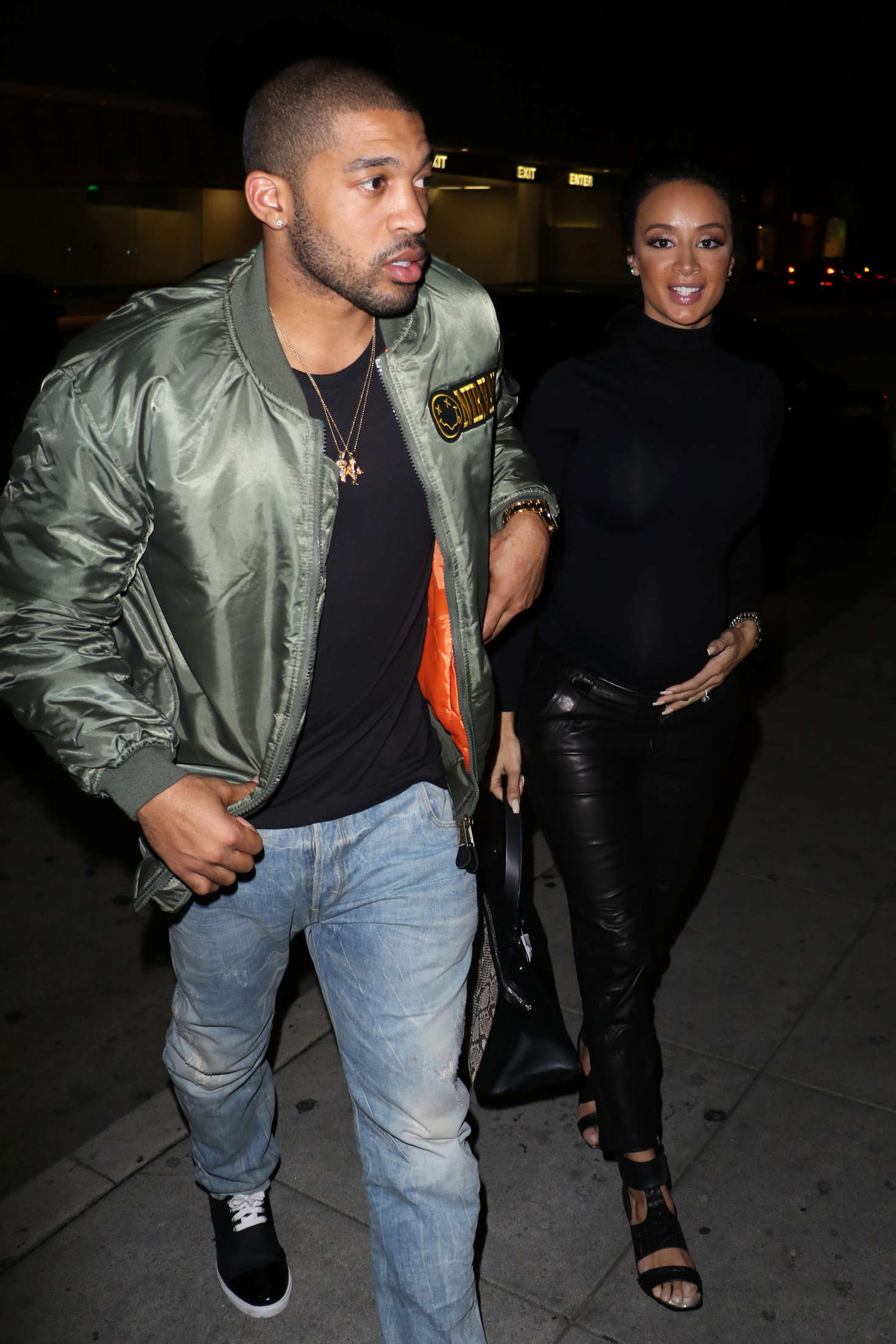 Draya Michele arrives at Mr Chow