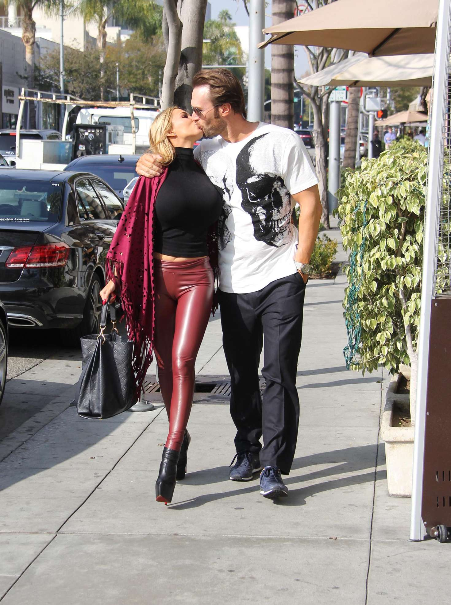 Maria Yotta out in Beverly Hills