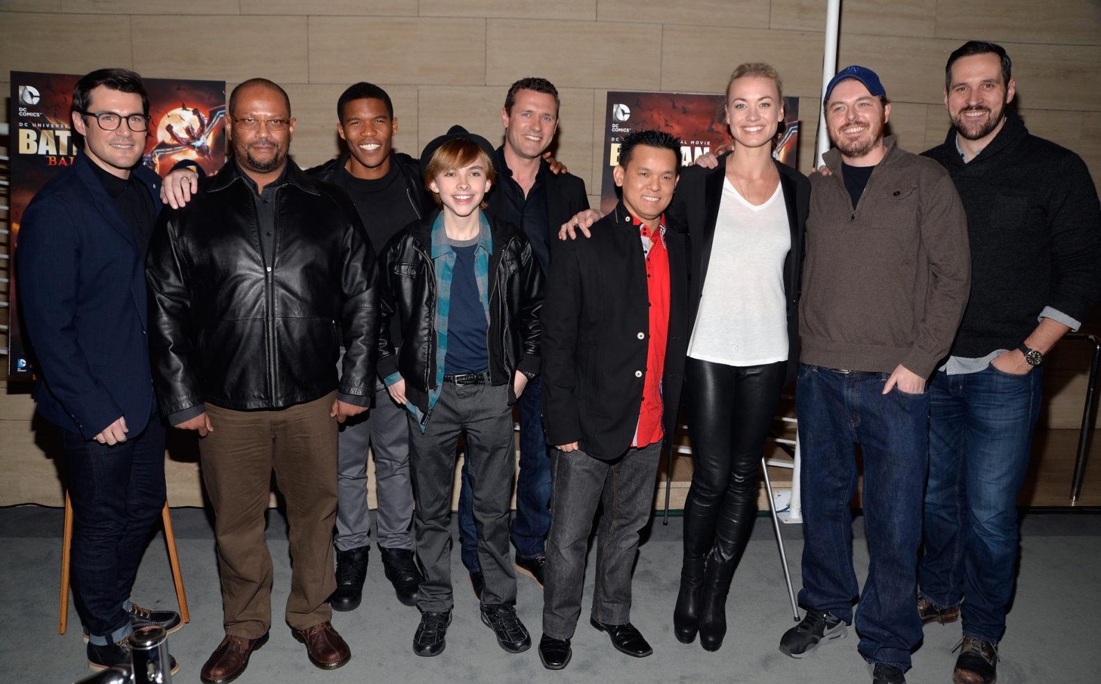 Yvonne Strahovski attends Batman Bad Blood premiere