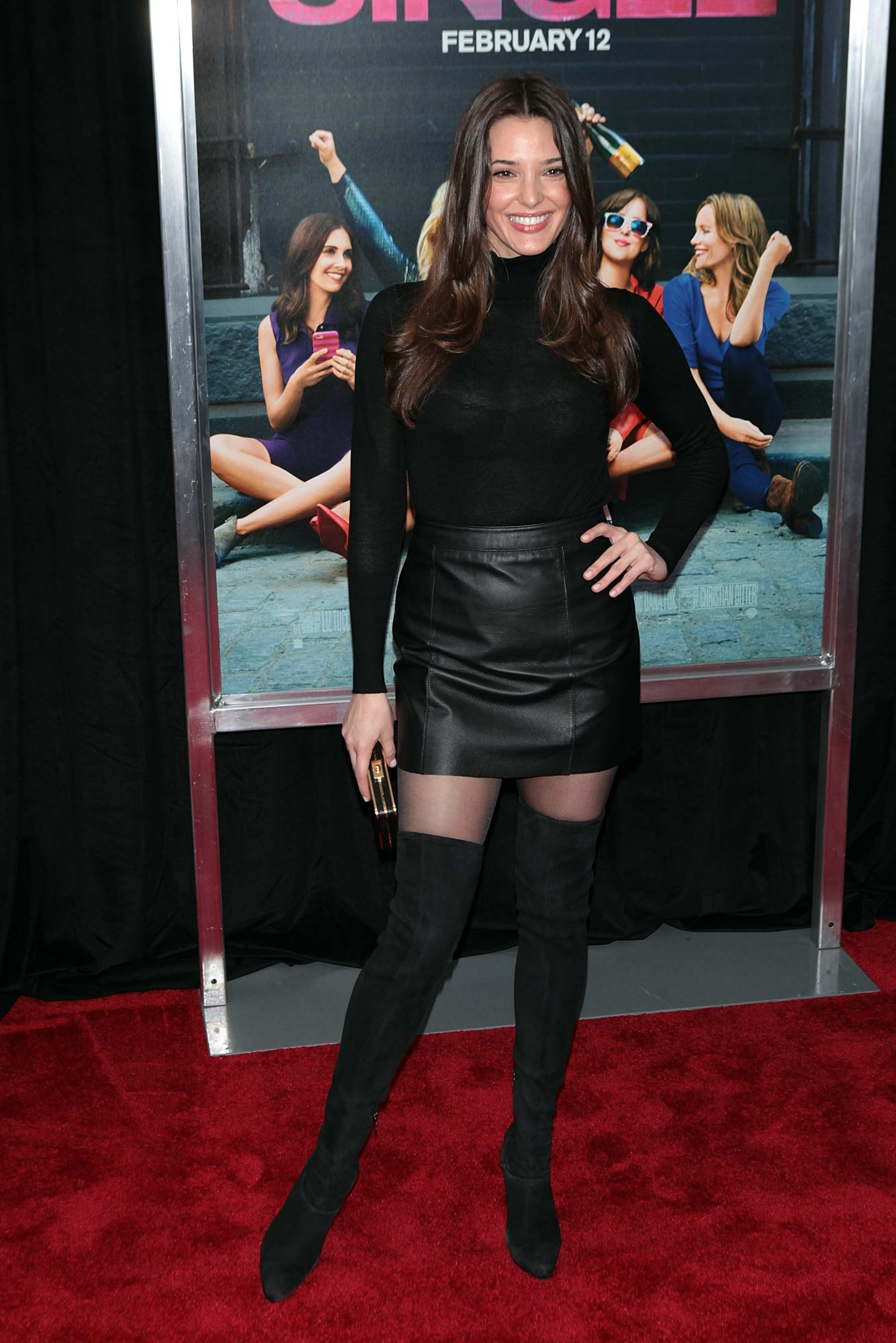 Angela Bellotte attends How To Be Single Premiere