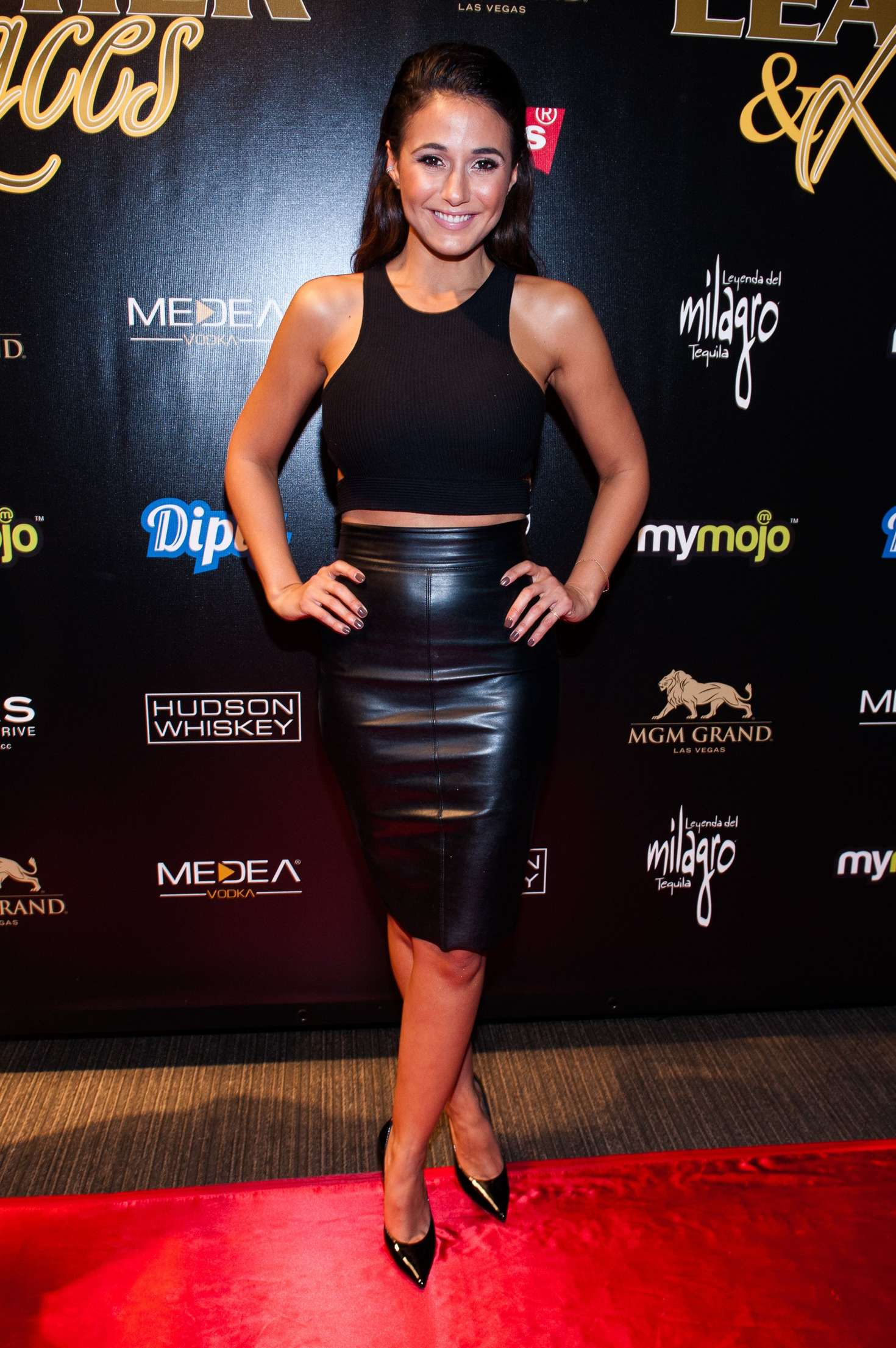 Emmanuelle Chriqui attends 13th Annual Leather & Laces Mega Party