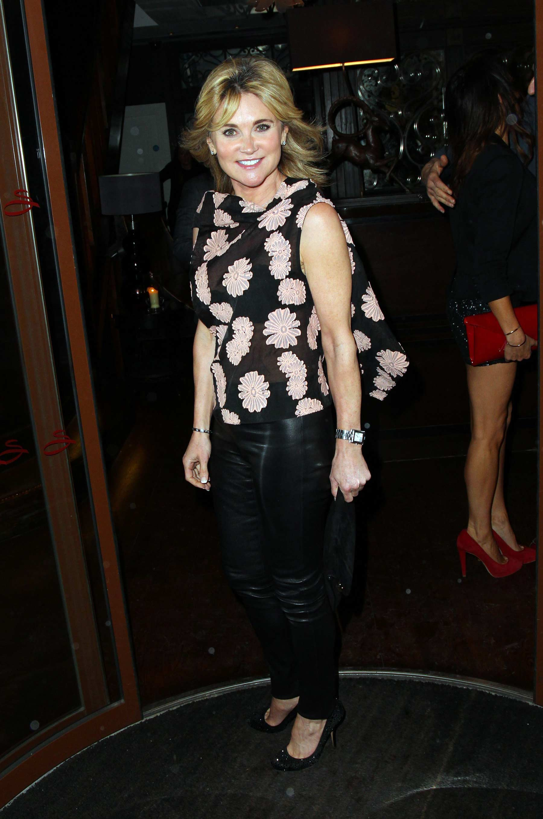 Anthea Turner at Nick Ede Party