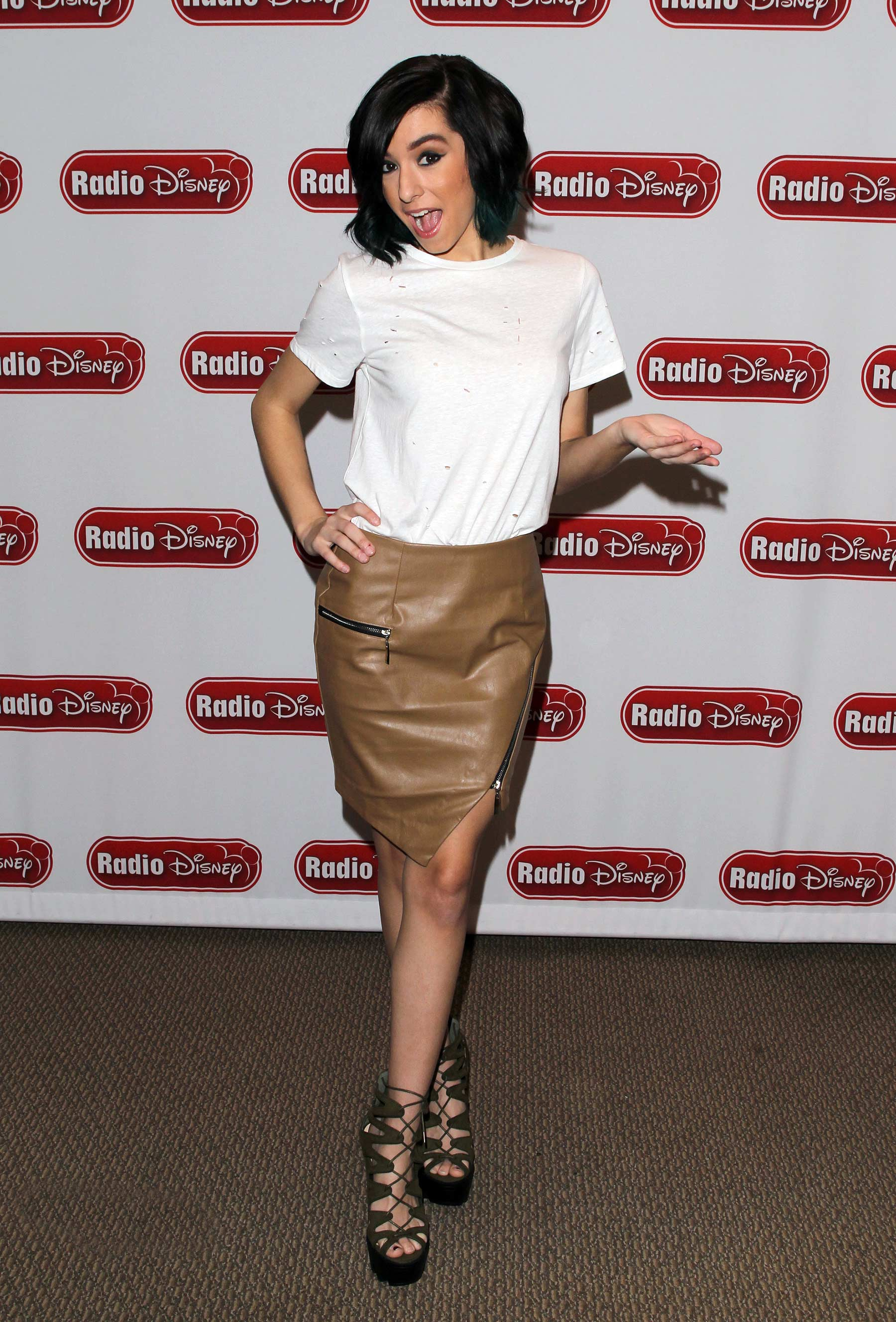 Christina Grimmie at Radio Disney