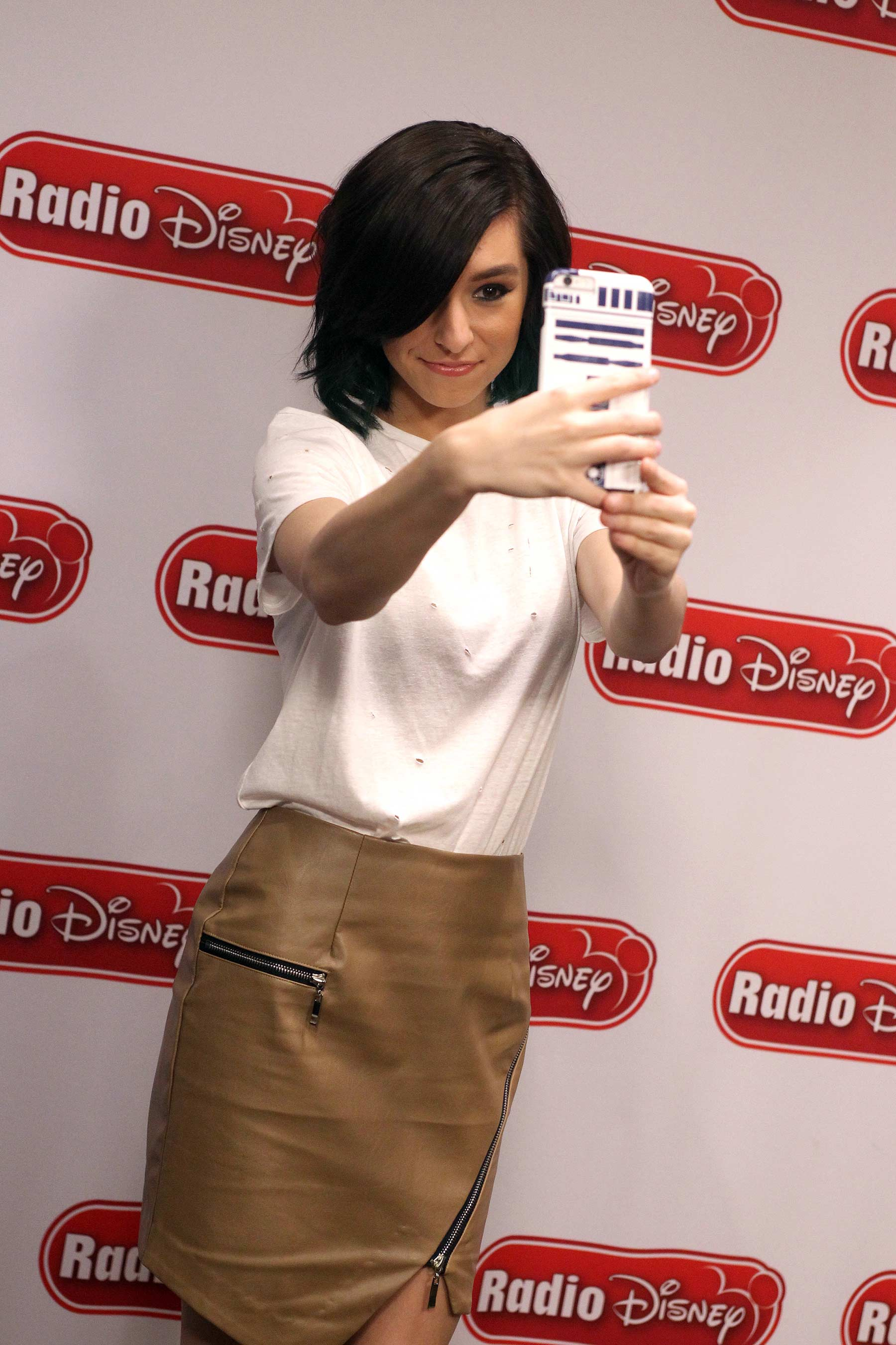 Christina Grimmie at Radio Disney