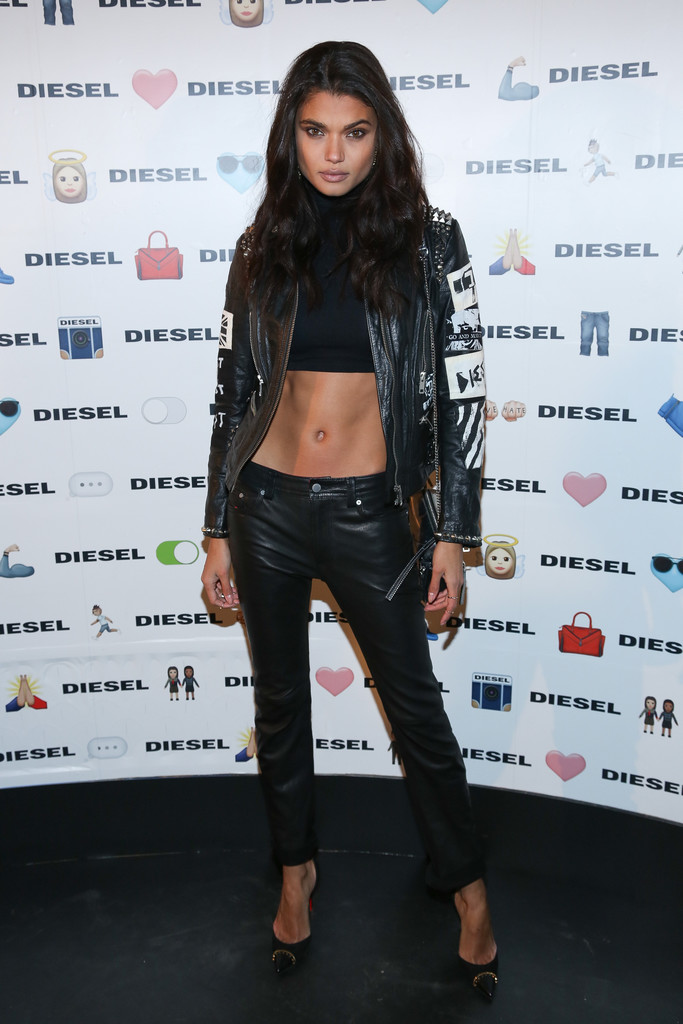 Daniela Braga attends the afterparty for DIESEL Madison Avenue Flagship