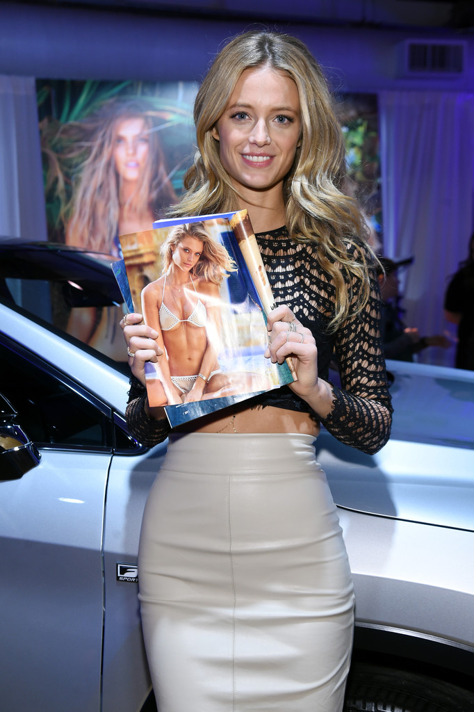 Kate Bock attends Sports Illustrated Swimsuit 2016