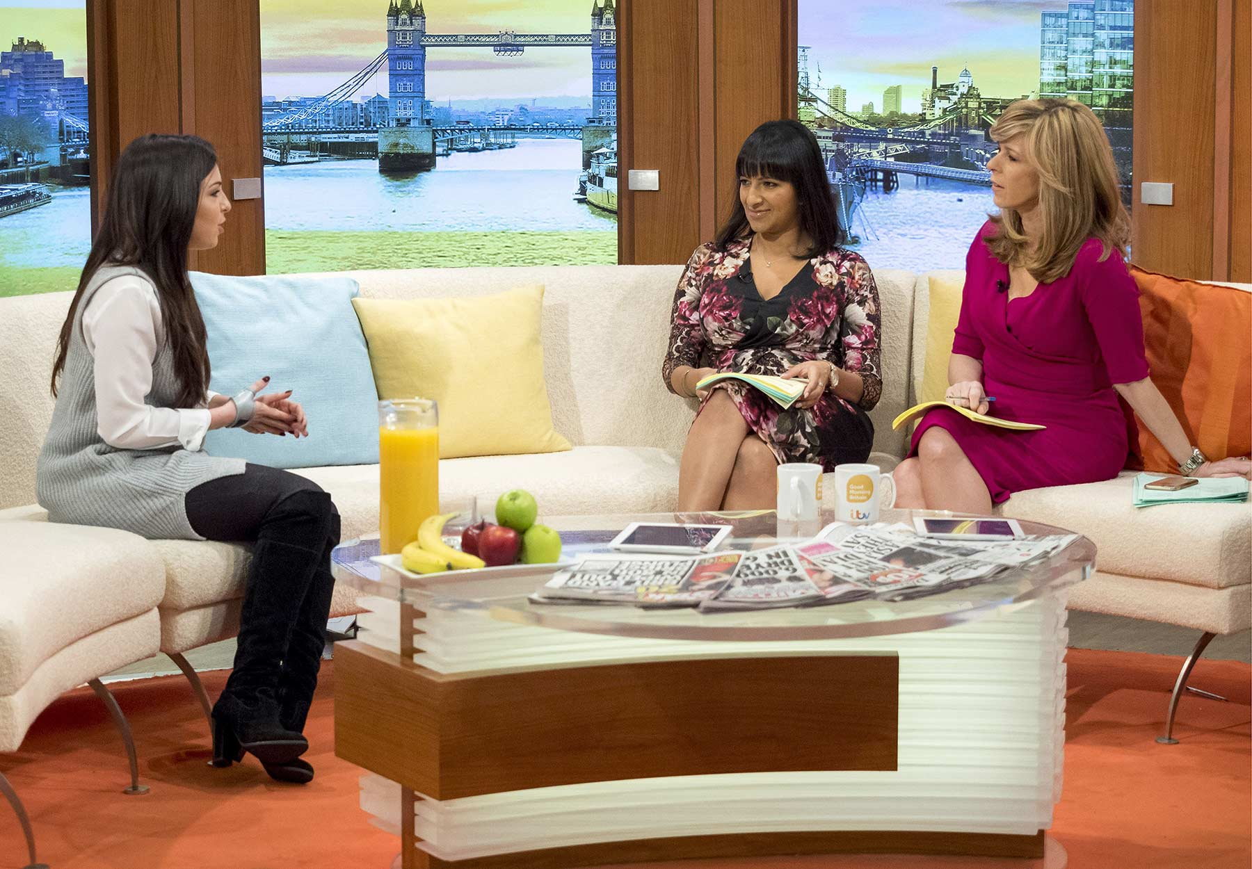 Louisa Lytton at Good Morning Britain