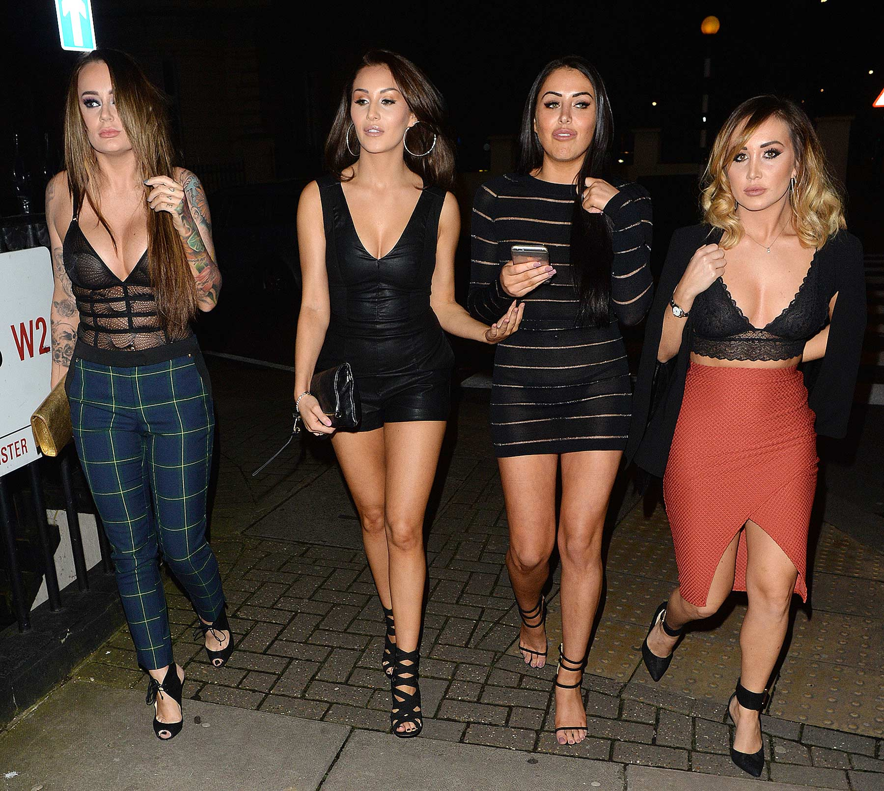 Chloe Goodman arrives at The Launch of Lockie's Kitchen