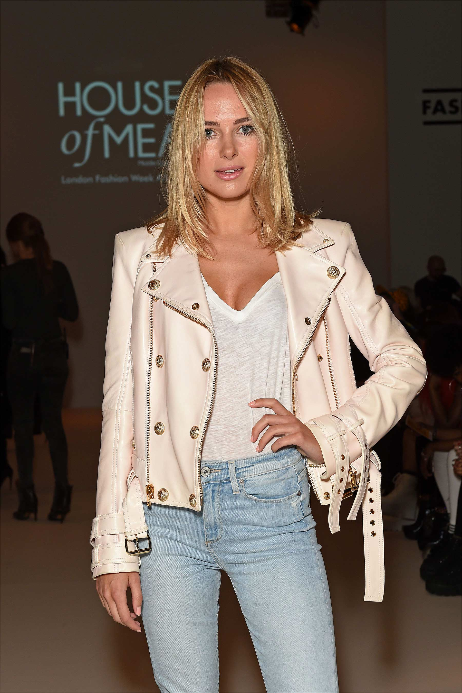 Kimberley Garner attends Middle East Show