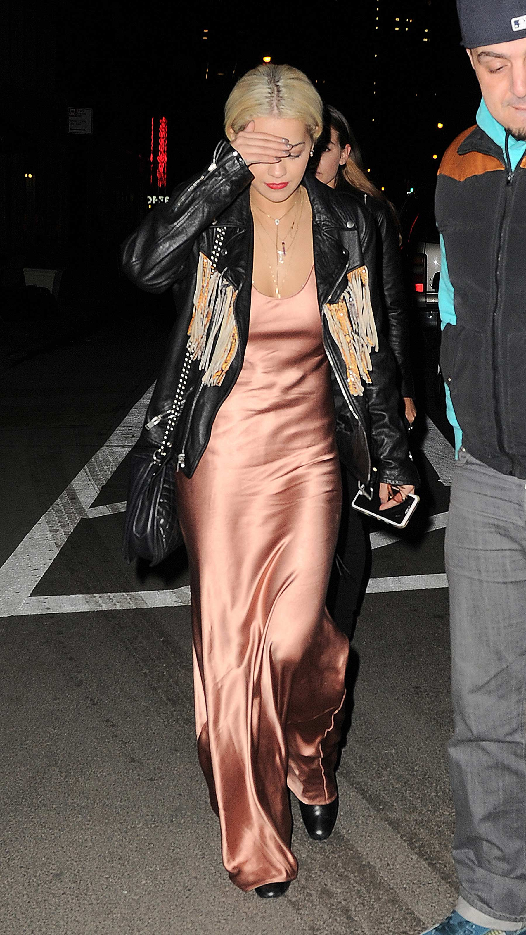 Rita Ora at ACME Restaurant in NYC