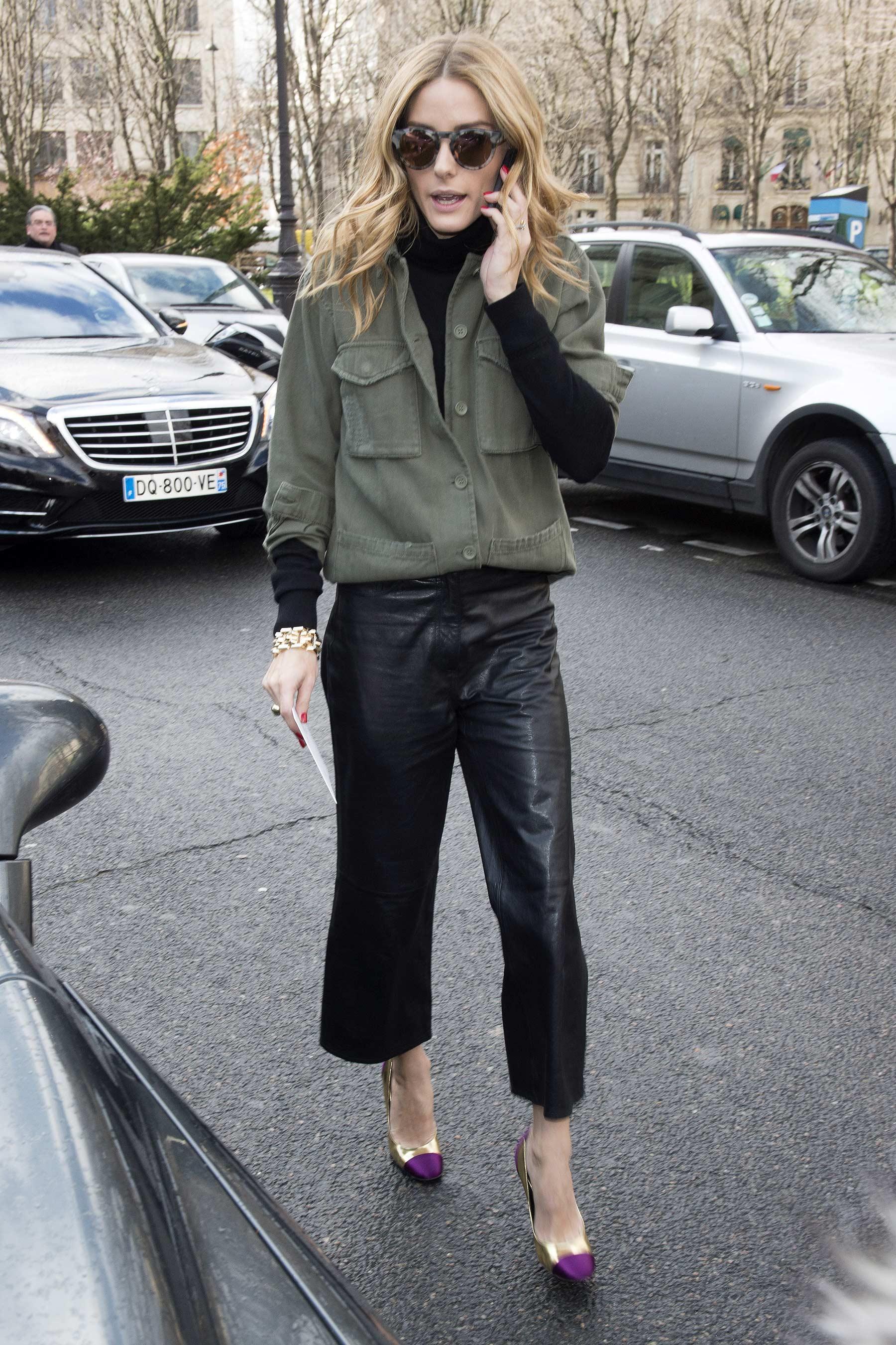 Olivia Palermo attends the Giambattista Valli show
