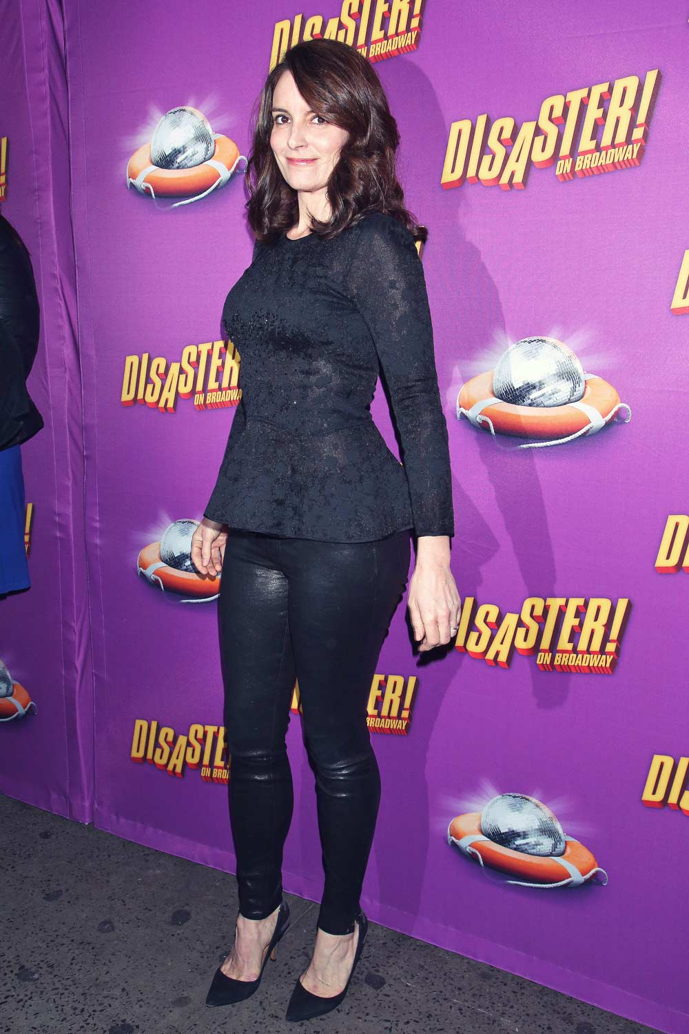 Tina Fey at the opening night performance of Disaster