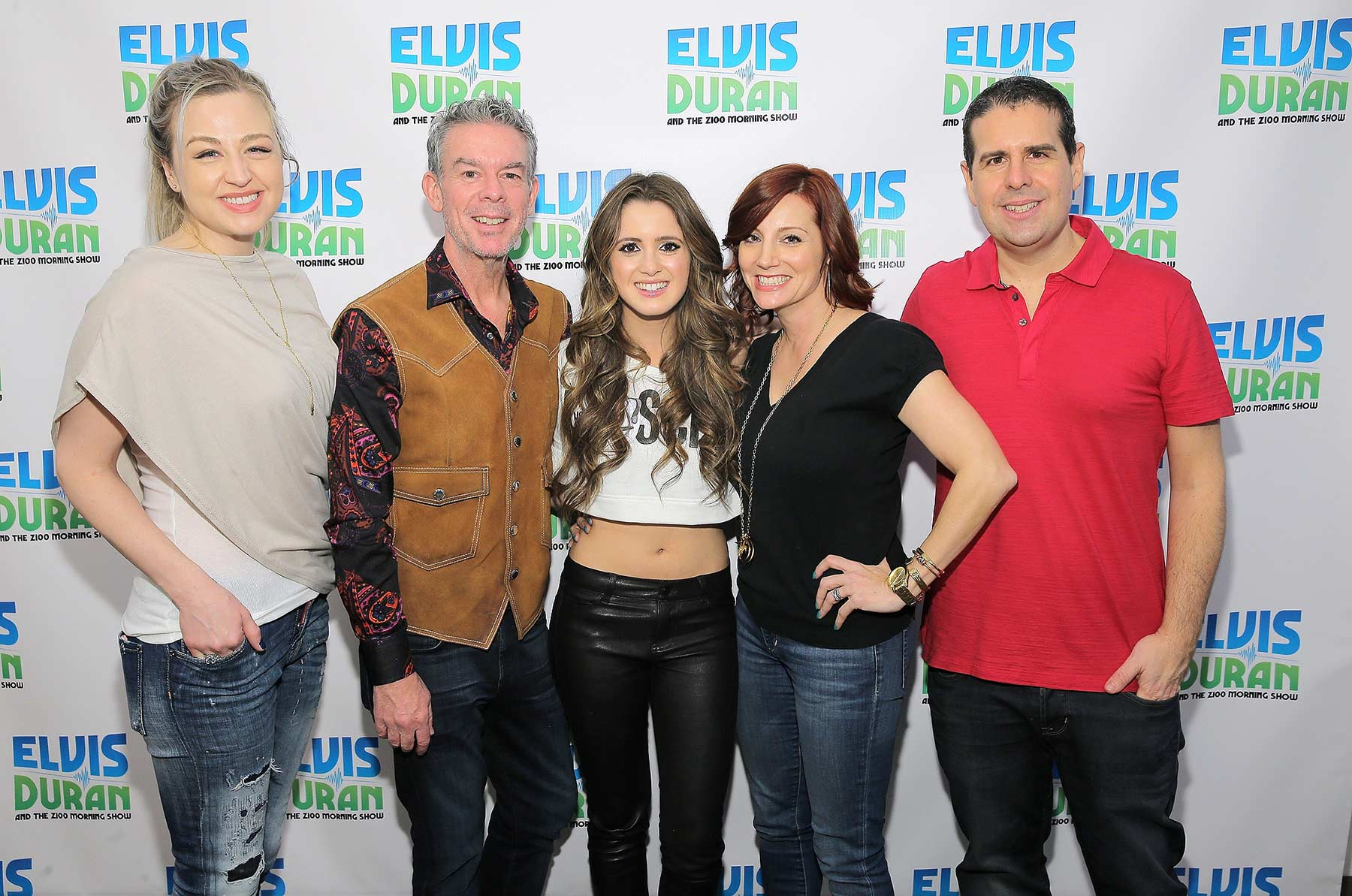 Laura Marano attends The Elvis Duran Z100 Morning Show