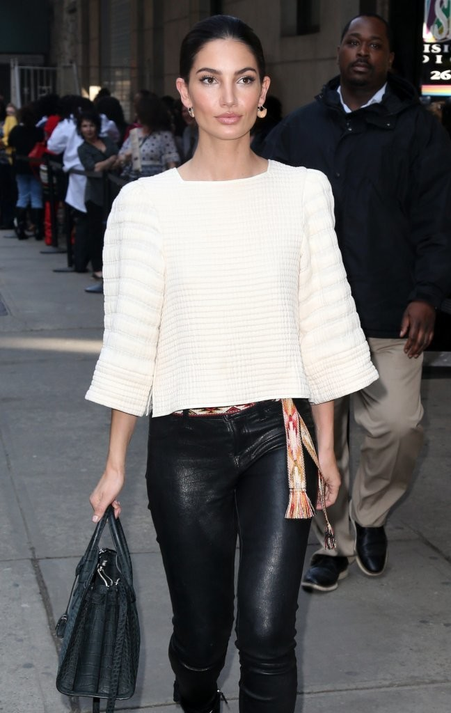Lily Aldridge out and about in New York City