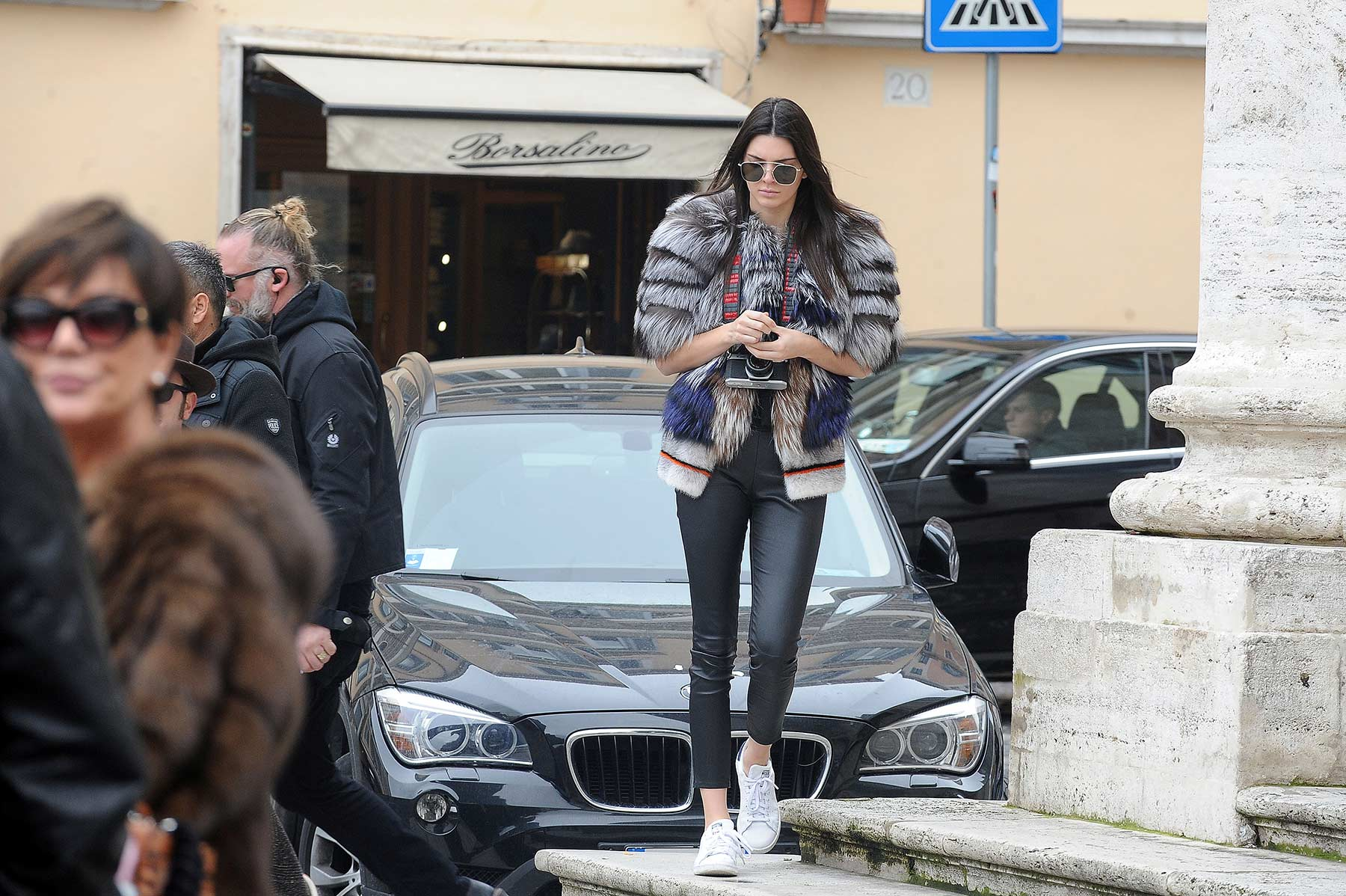 Kendall Jenner out in Rome