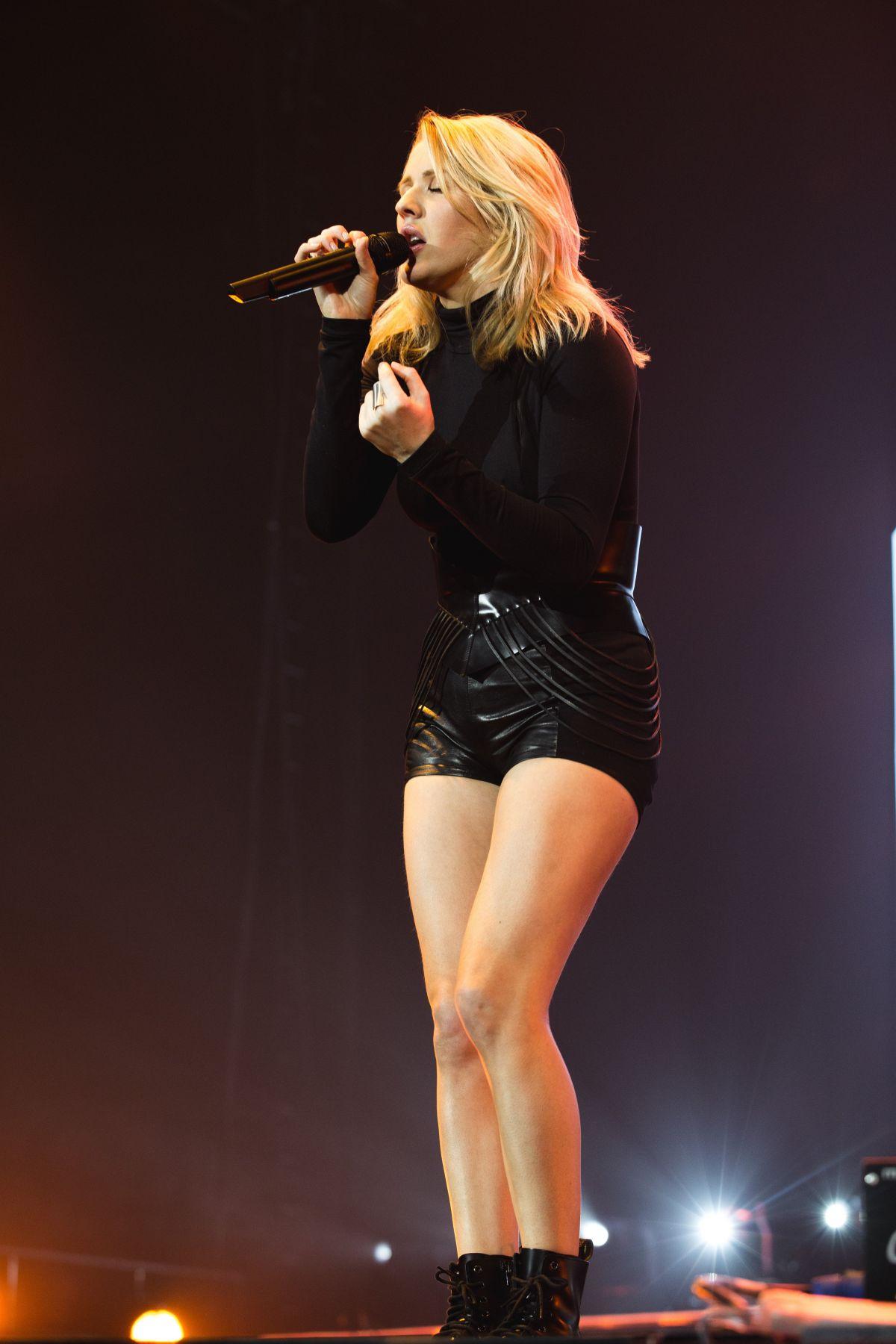 Ellie Goulding performs at Capital FM Arena in Nottingham