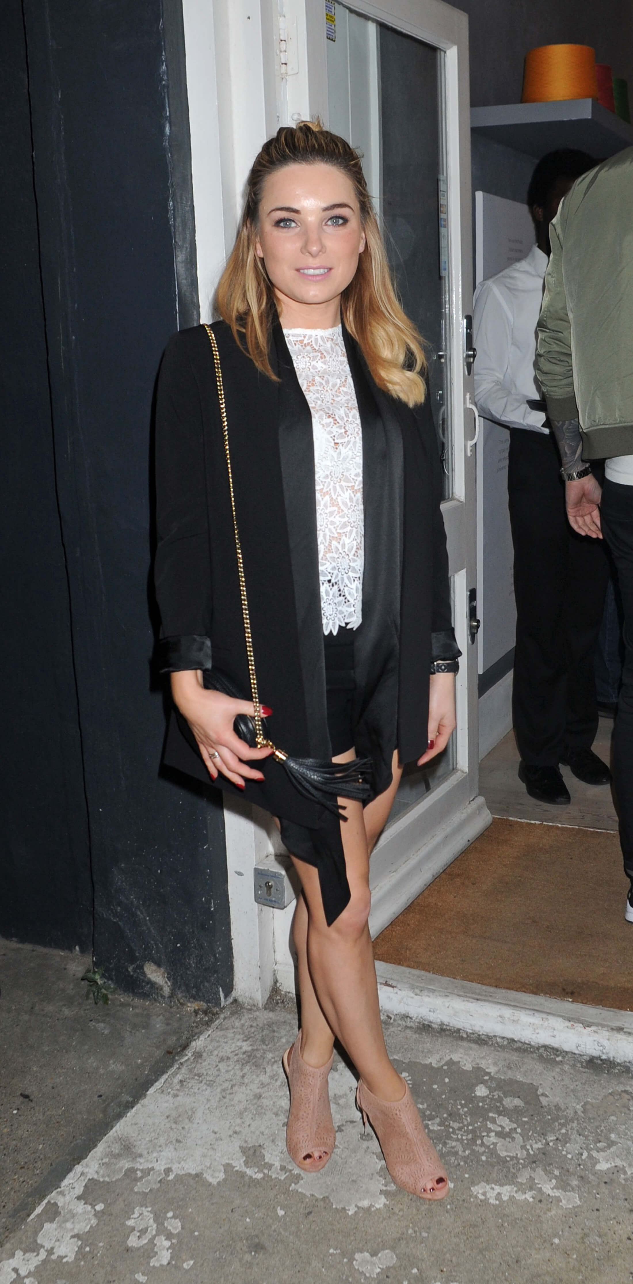 Sian Welby at DELAM Luxury Cashmere Brand Launch Event