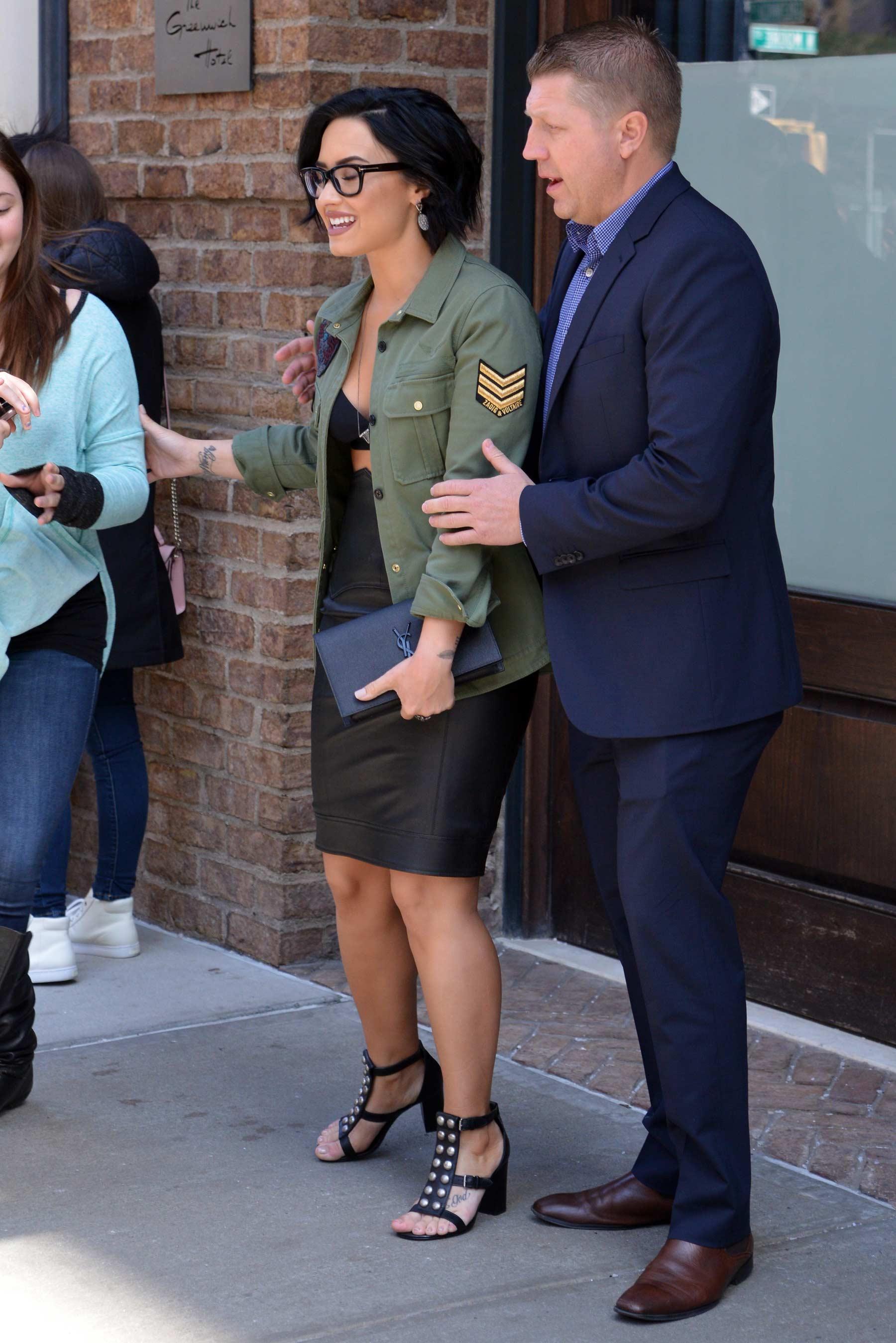 Demi Lovato attends the Honda Civic Event