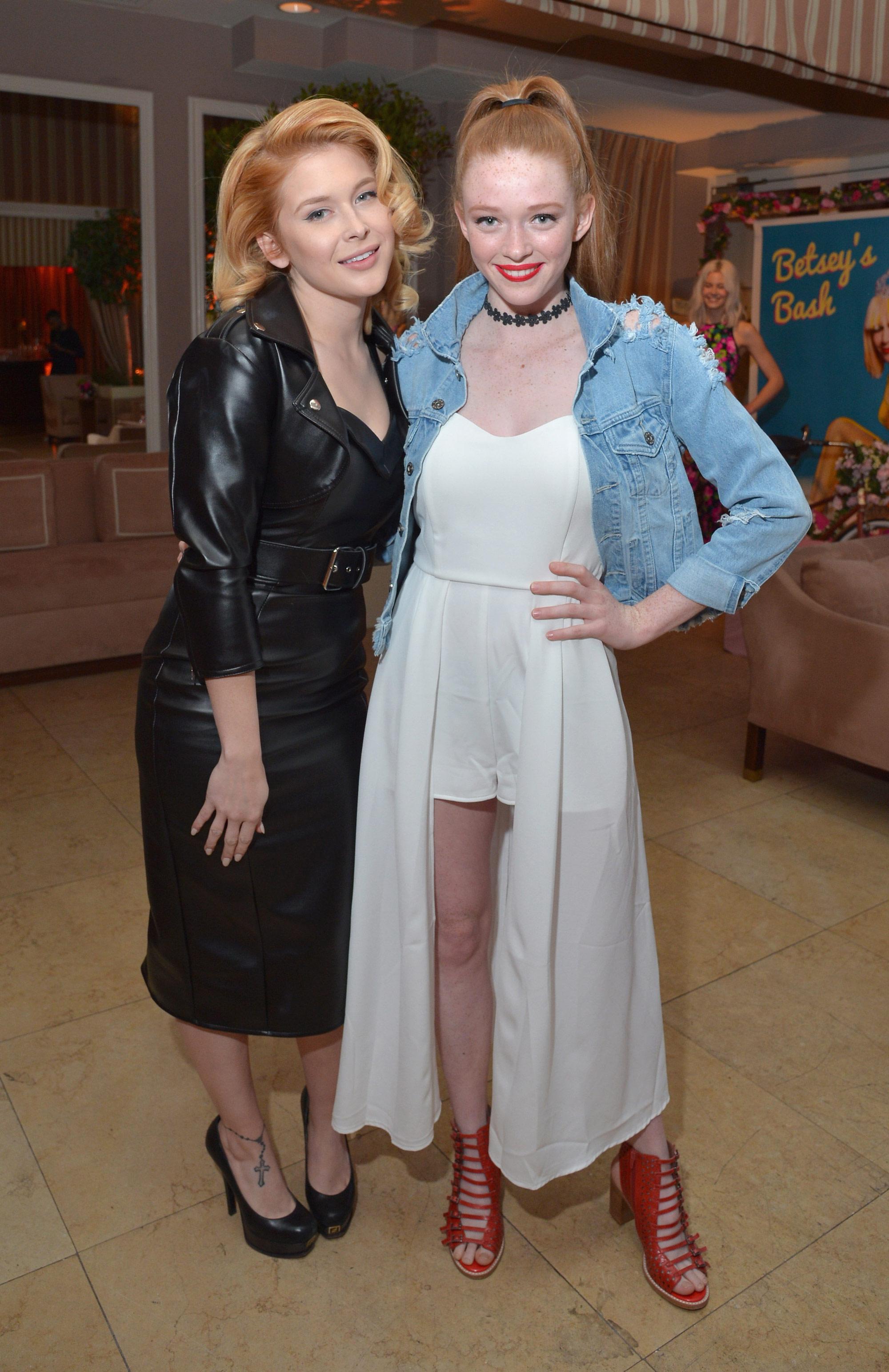 Renee Olstead attends Fendi And Vogue Celebrate Fendi
