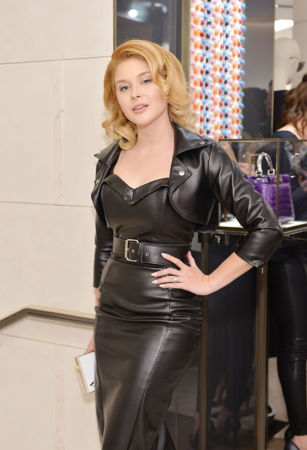 Renee Olstead attends Fendi And Vogue Celebrate Fendi