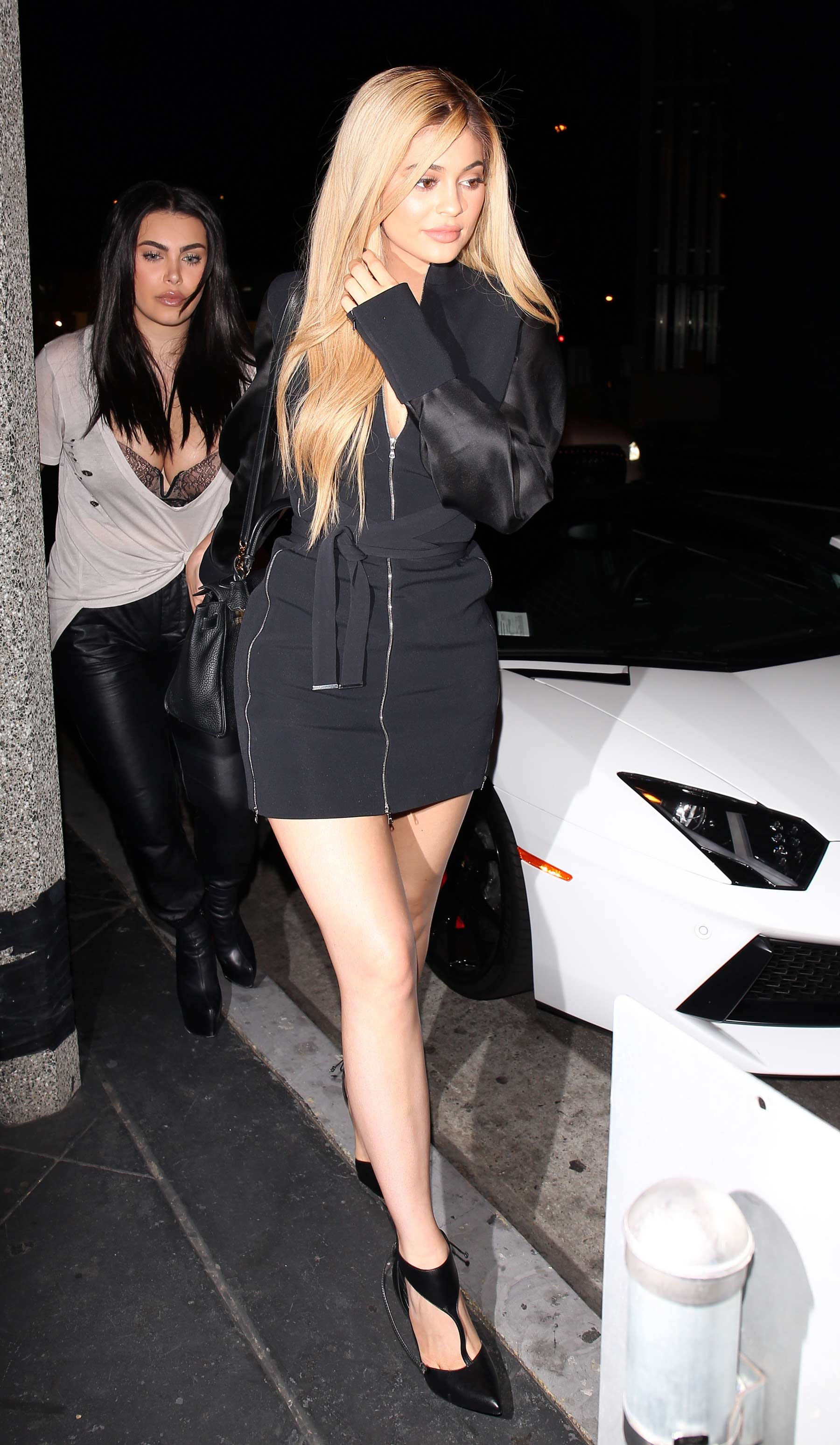 Kylie Jenner out in West Hollywood