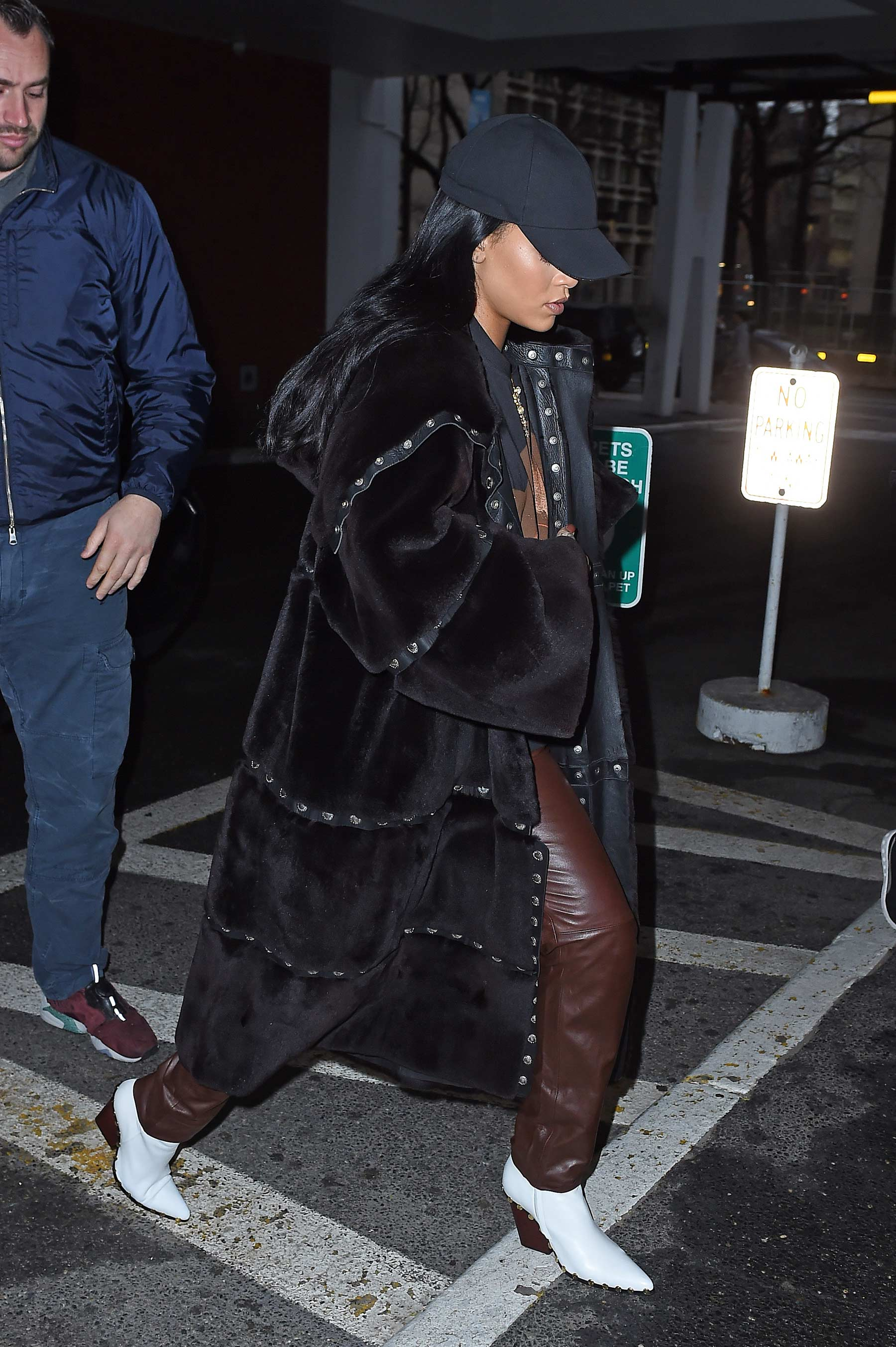 Rihanna leaving dentist's office in New York City