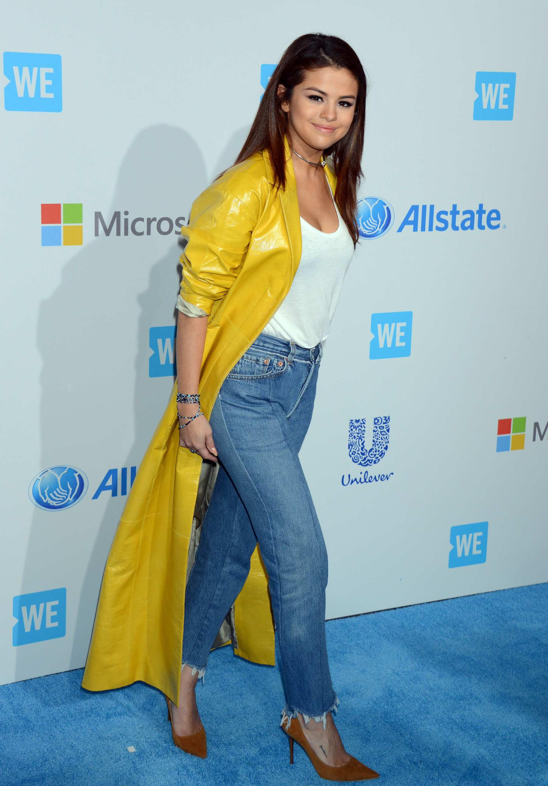 Selena Gomez attends WE Day California 2016
