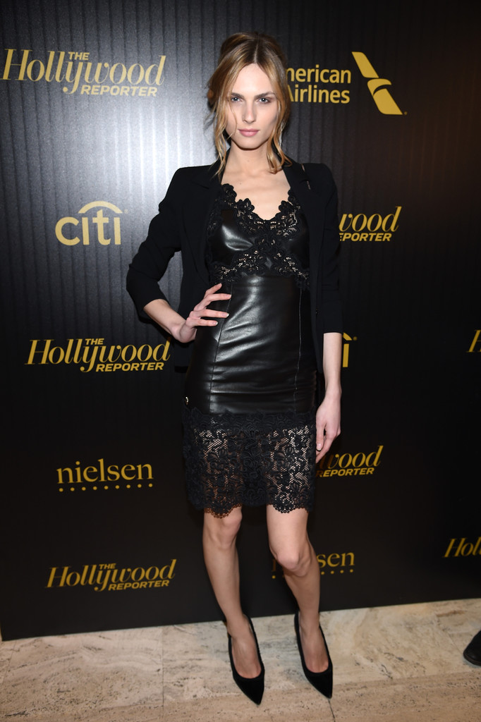 Andreja Pejic at The Hollywood Reporter's 5th annual 35 Most Powerful People