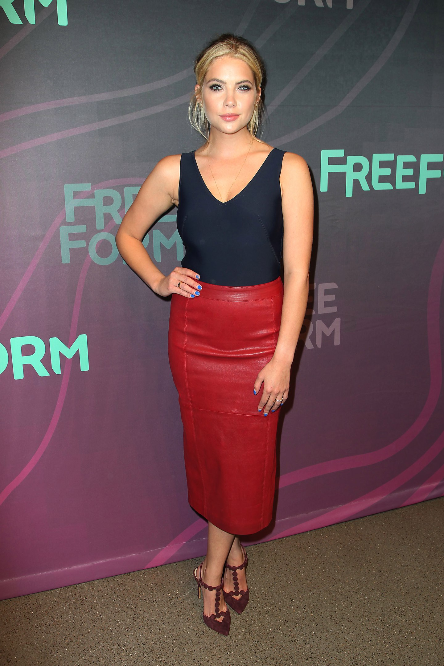 Ashley Benson attends 2016 ABC Freeform Upfront