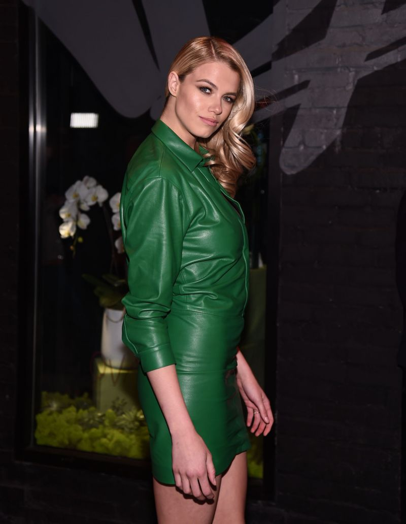Hailey Clauson attends Sports Illustrated Fashionable 50 Event