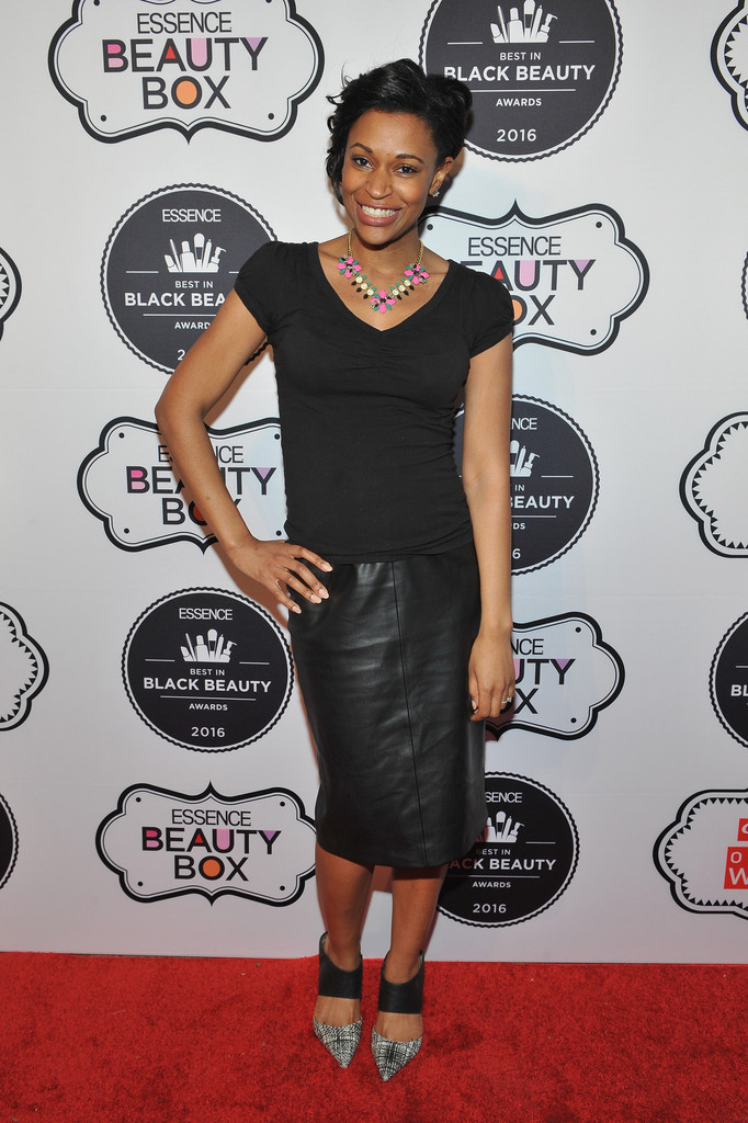 Deena Campbell attends the ESSENCE Best In Black Beauty Awards