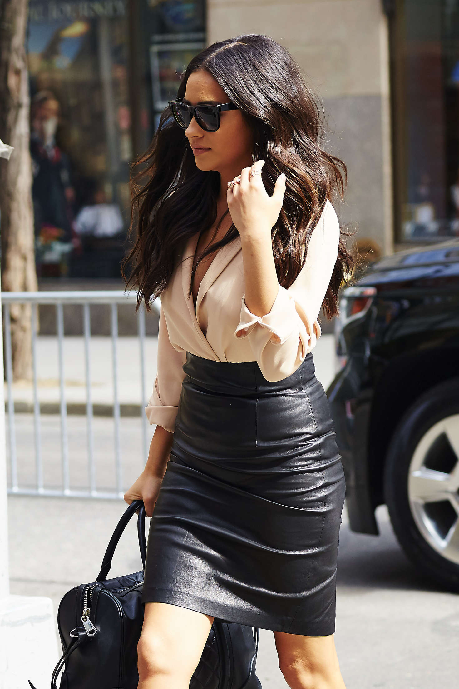 Shay Mitchell at The Today Show