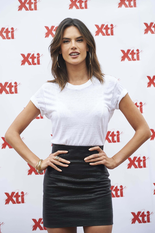 Alessandra Ambrosio attends XTI New Collection